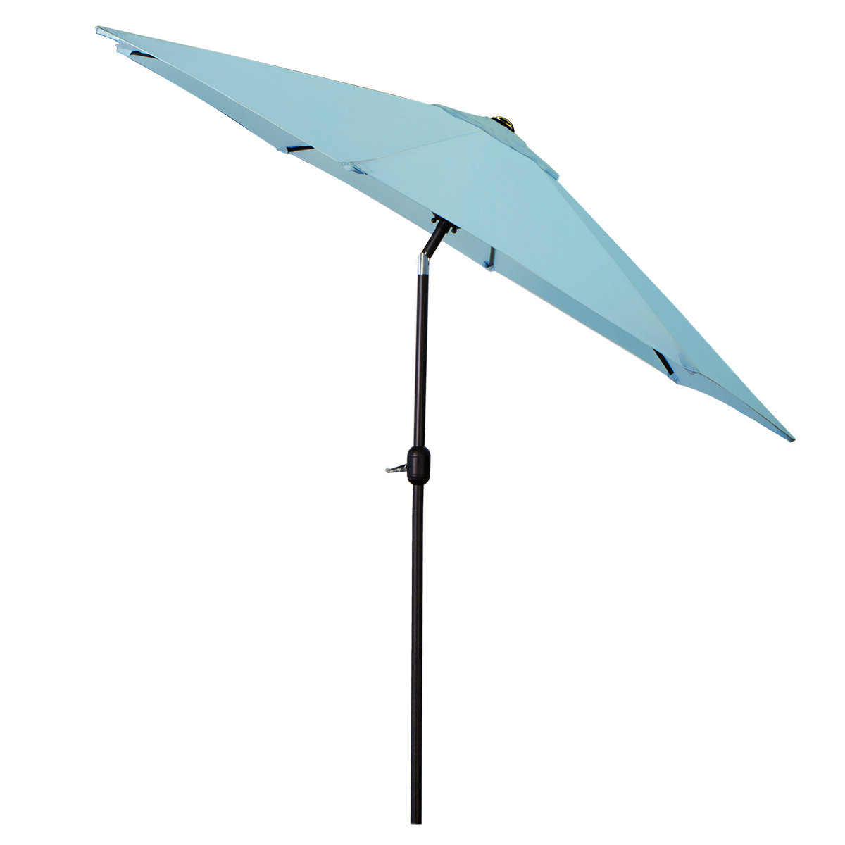 Popular Sittard Market Umbrellas Pertaining To Charlton Home Lunsford 9' Market Umbrella (View 11 of 20)