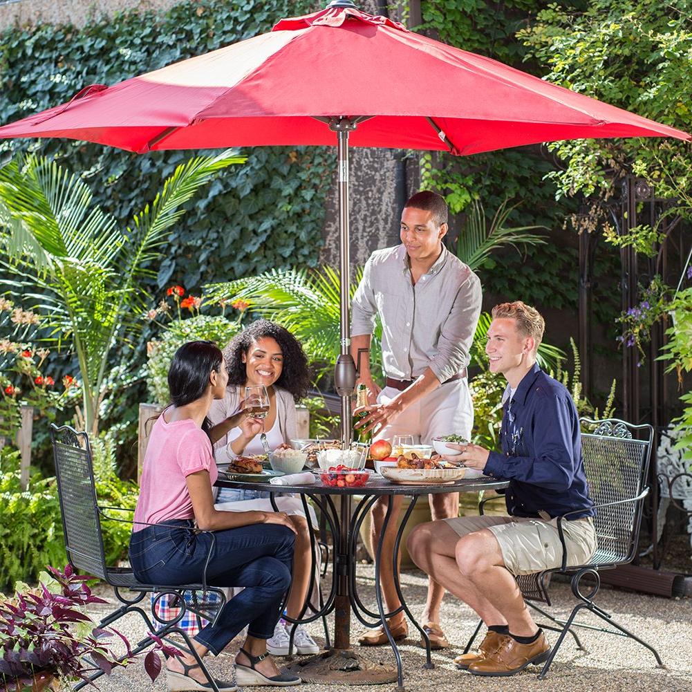 Popular The 7 Best Patio Umbrellas For Your Yard, Garden, Or Deck In 2019 Throughout Bradford Patio Market Umbrellas (View 15 of 20)