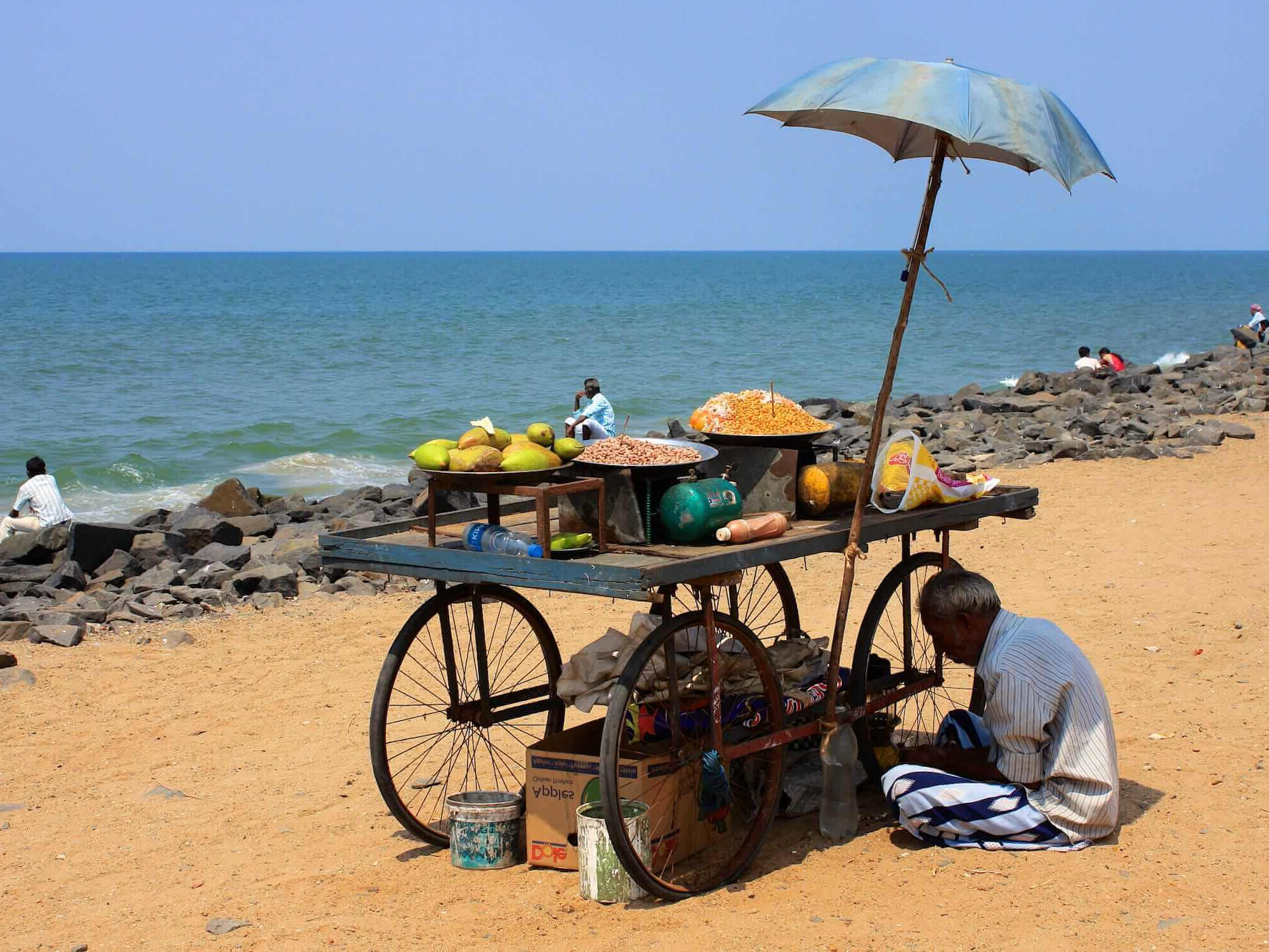 Preferred Auriville Beach Umbrellas Throughout South India: Discovering Pondicherry In Tamil Nadu – Corinthian (View 12 of 20)