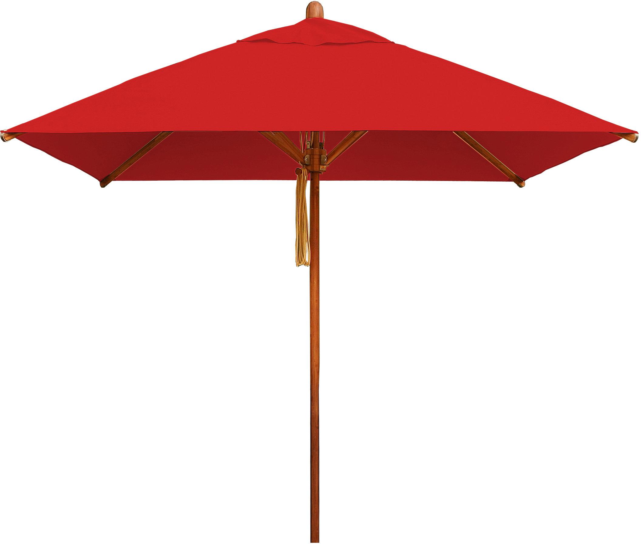 Preferred Bambrella Levante 7' Square Market Umbrella For Hurt Market Umbrellas (View 15 of 20)