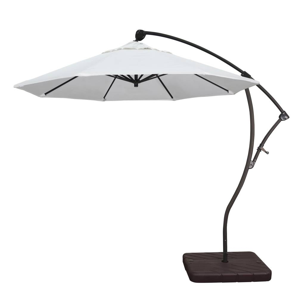 Preferred Bayside Series Cantilever Umbrellas Pertaining To California Umbrella 9' Bayside Series Cantilever Umbrella (View 18 of 20)