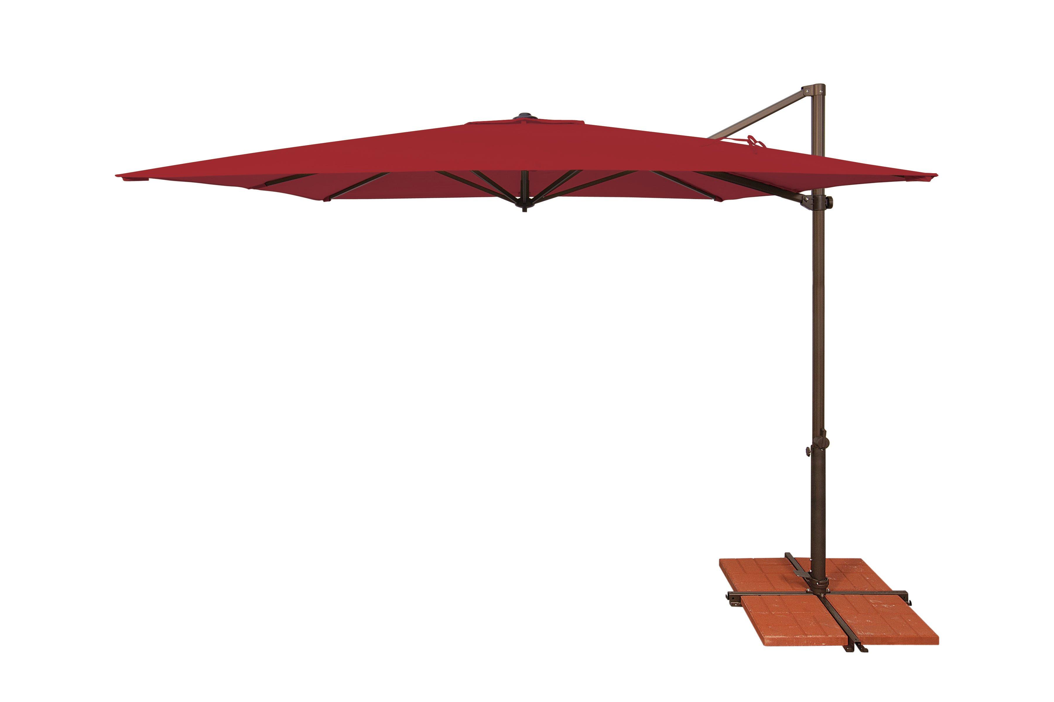 Preferred Fazeley  Rectangular Cantilever Umbrellas Pertaining To Sol 72 Outdoor Cora  (View 19 of 20)