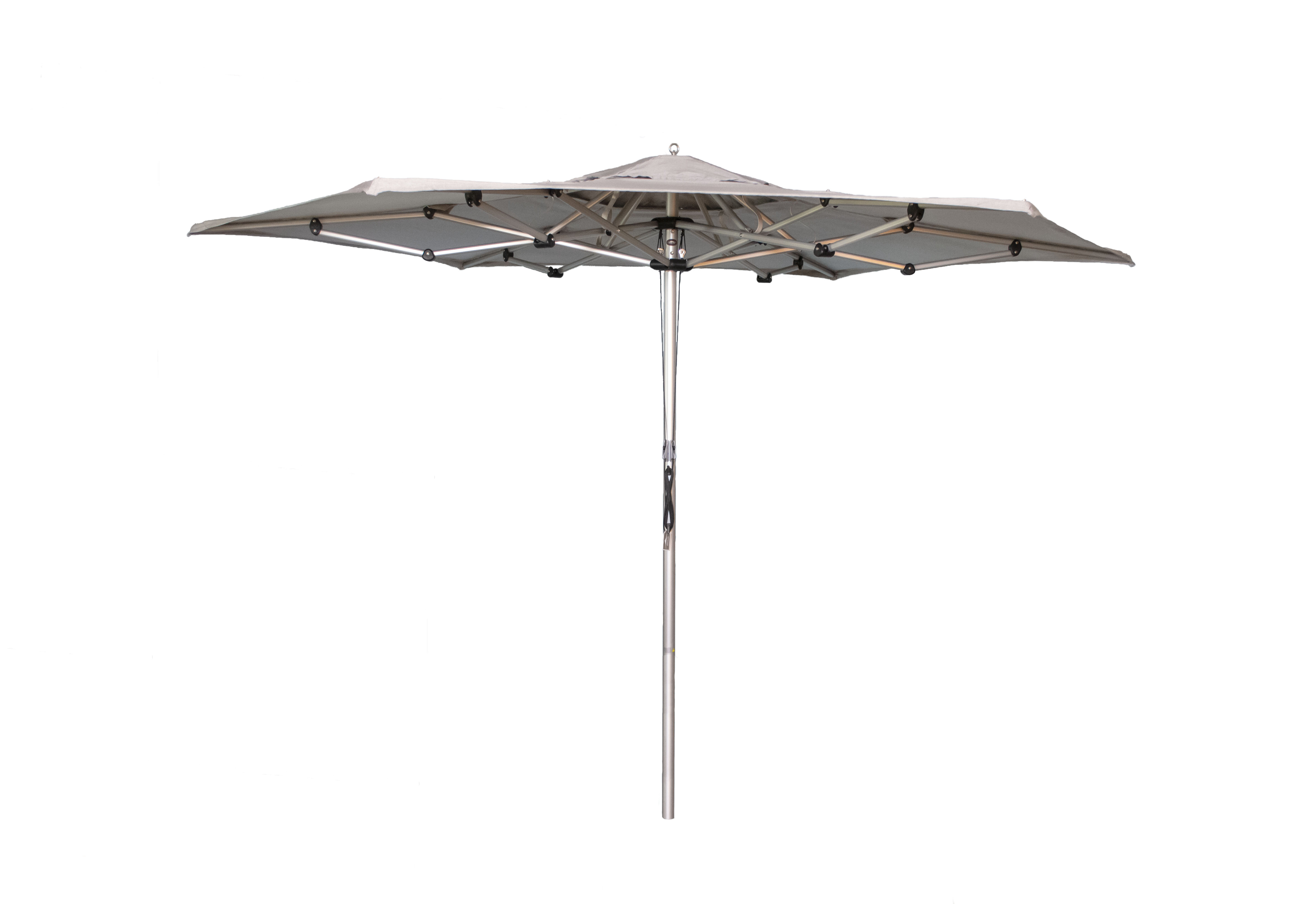 Preferred Lennie Cantilever Sunbrella Umbrellas Inside Baden 11' Market Sunbrella Umbrella (View 15 of 20)