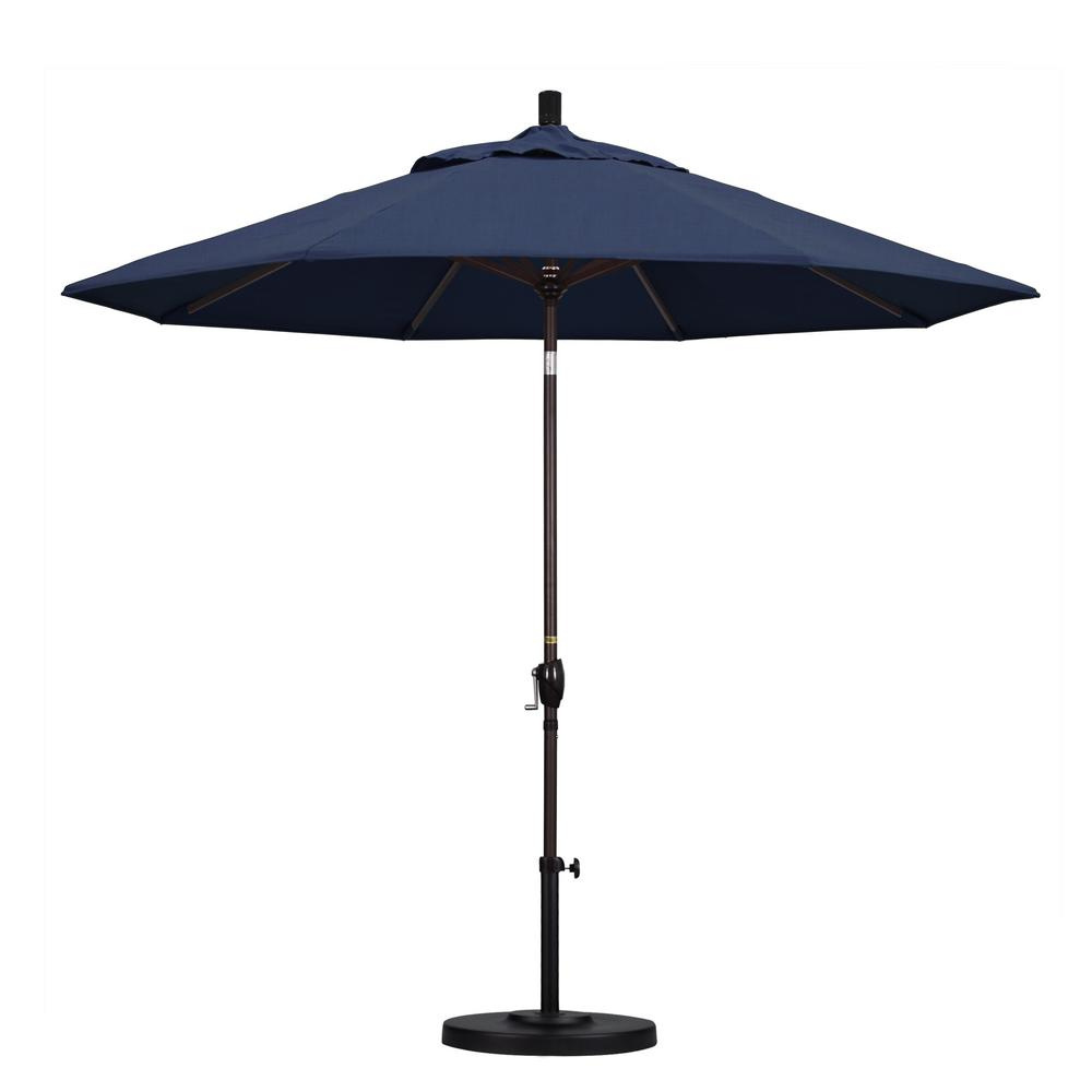 Preferred Solid Market Umbrellas Throughout California Umbrella 9 Ft (View 14 of 20)