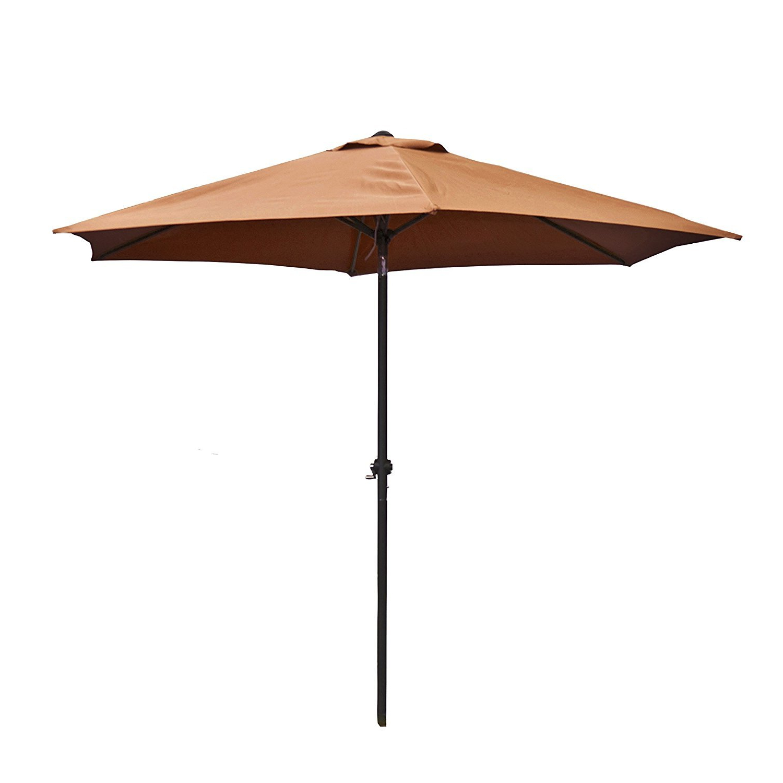Recent Bosley 9' Market Umbrella Regarding Havant Market Umbrellas (View 14 of 20)