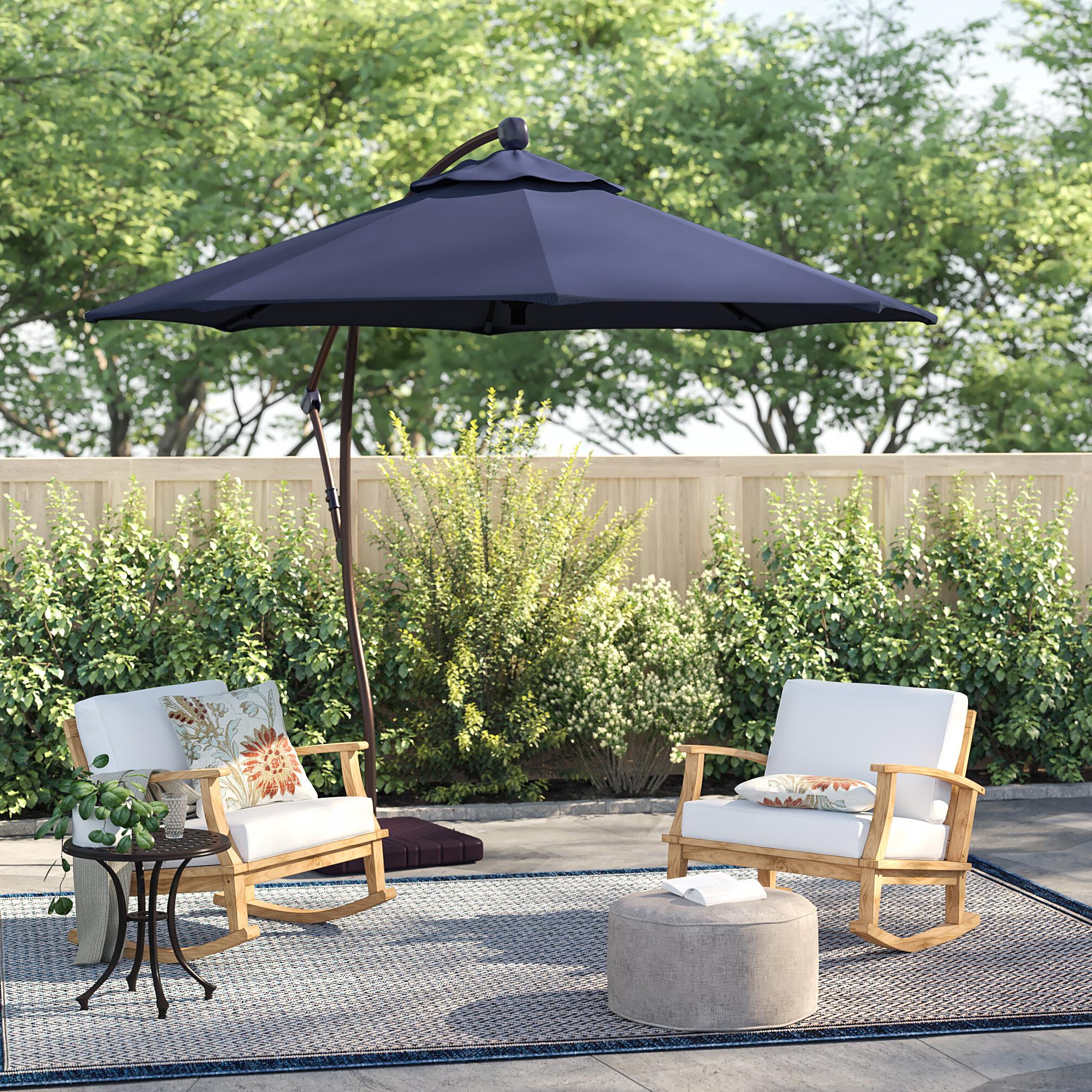 Recent Farnham Cantilever Umbrellas Regarding Capri 9' Cantilever Umbrella (View 6 of 20)
