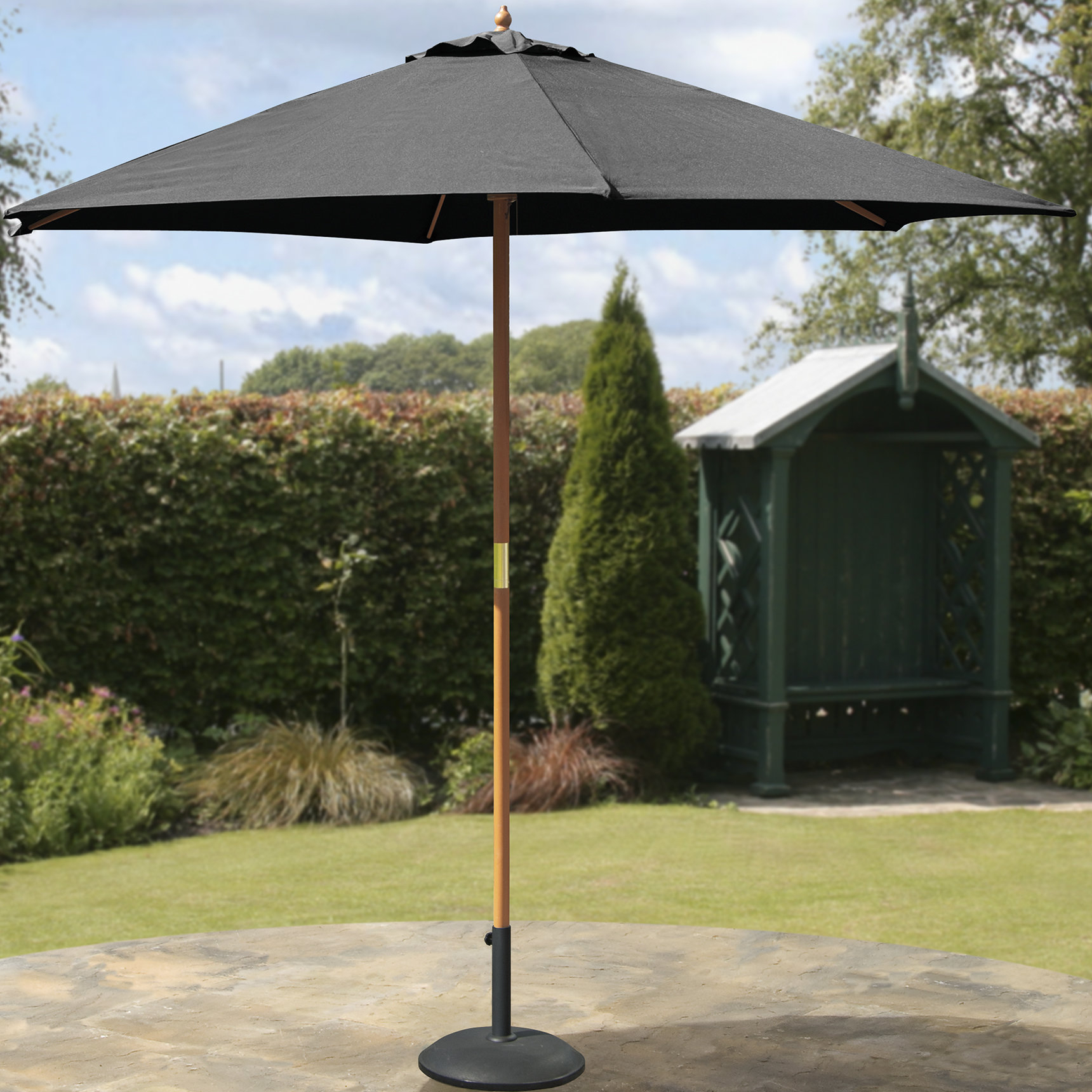 Recent Hoeft 9' Market Umbrella With Fairford Market Umbrellas (View 17 of 20)