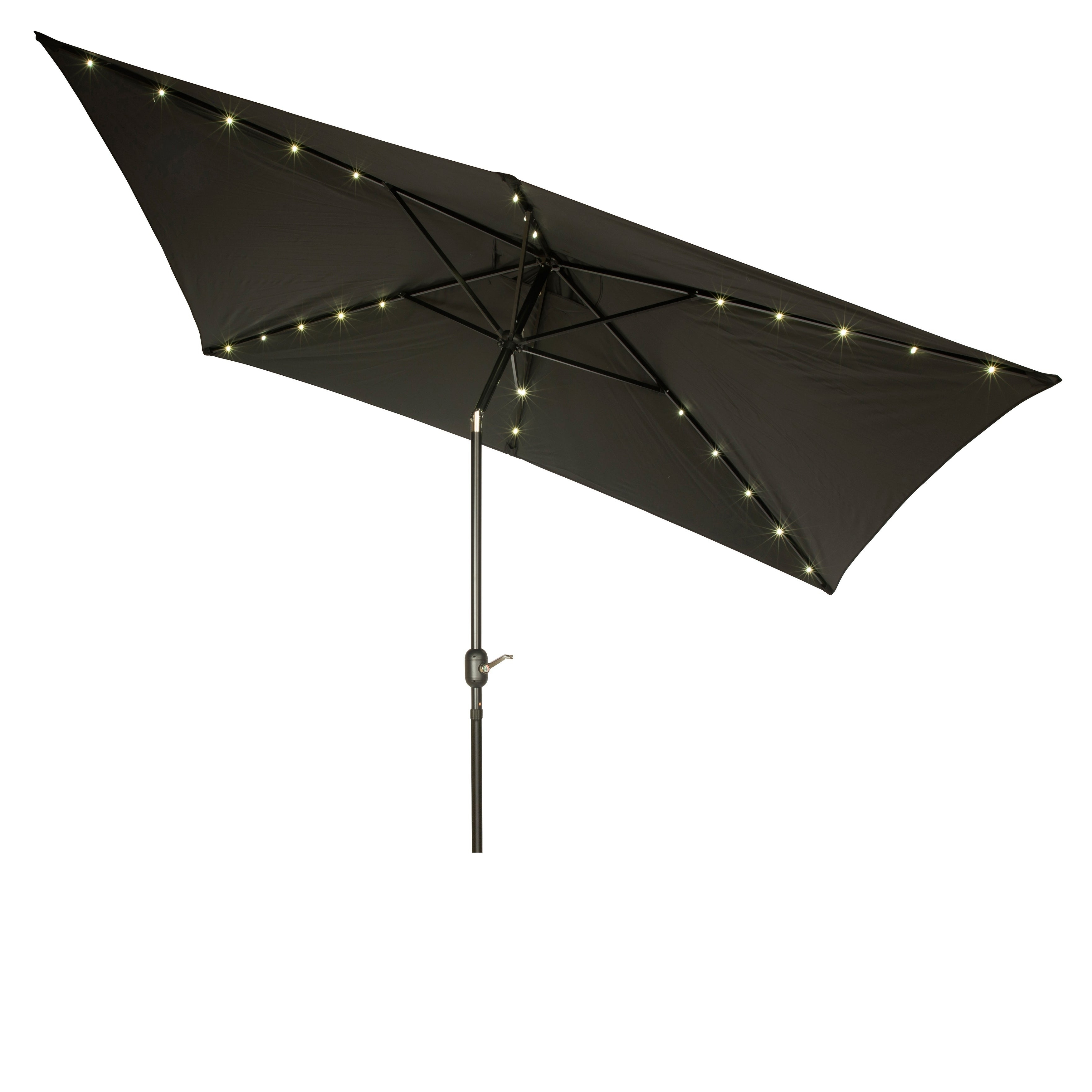 Recent Pedrick Drape Market Umbrellas Inside Buy Rectangular Patio Umbrellas Online At Overstock (Gallery 17 of 20)