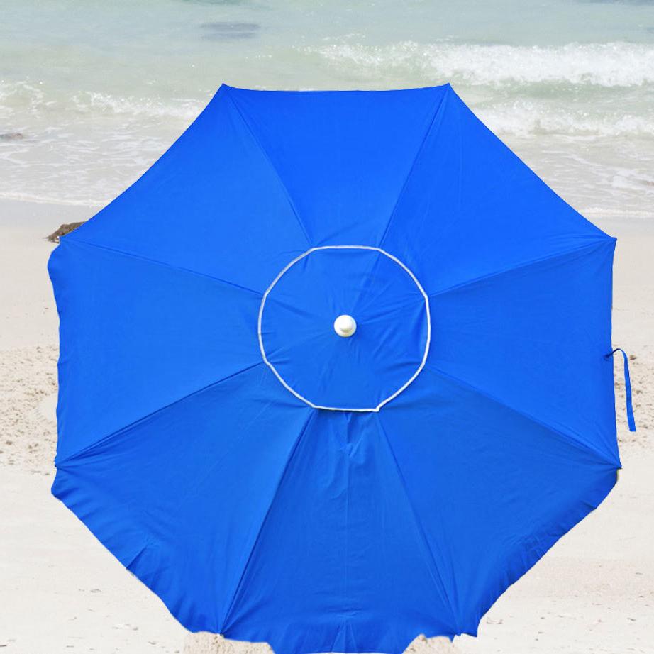 Recent Schmitz 6' Beach Umbrella For Kerner Steel Beach Umbrellas (View 4 of 20)
