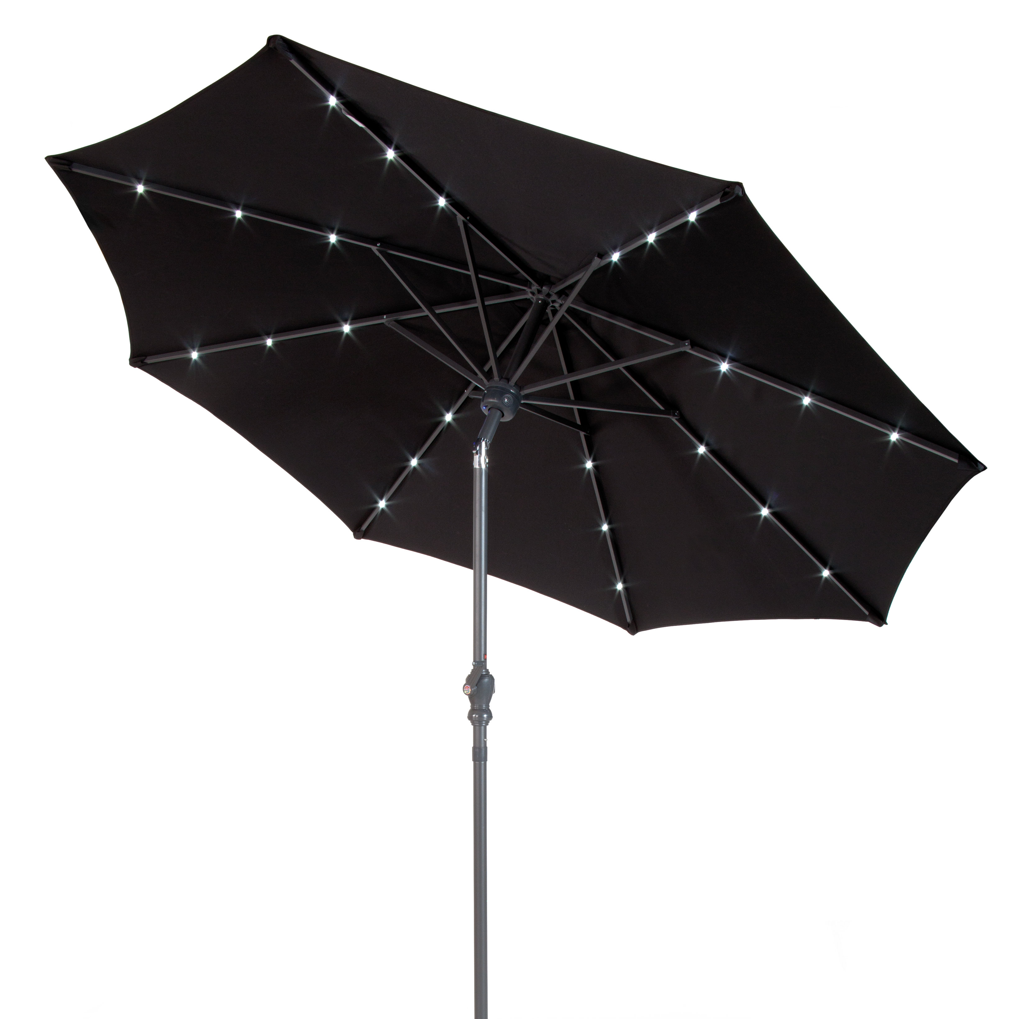 Recent Venice 9' Lighted Umbrella Within Venice Lighted Umbrellas (Gallery 1 of 20)