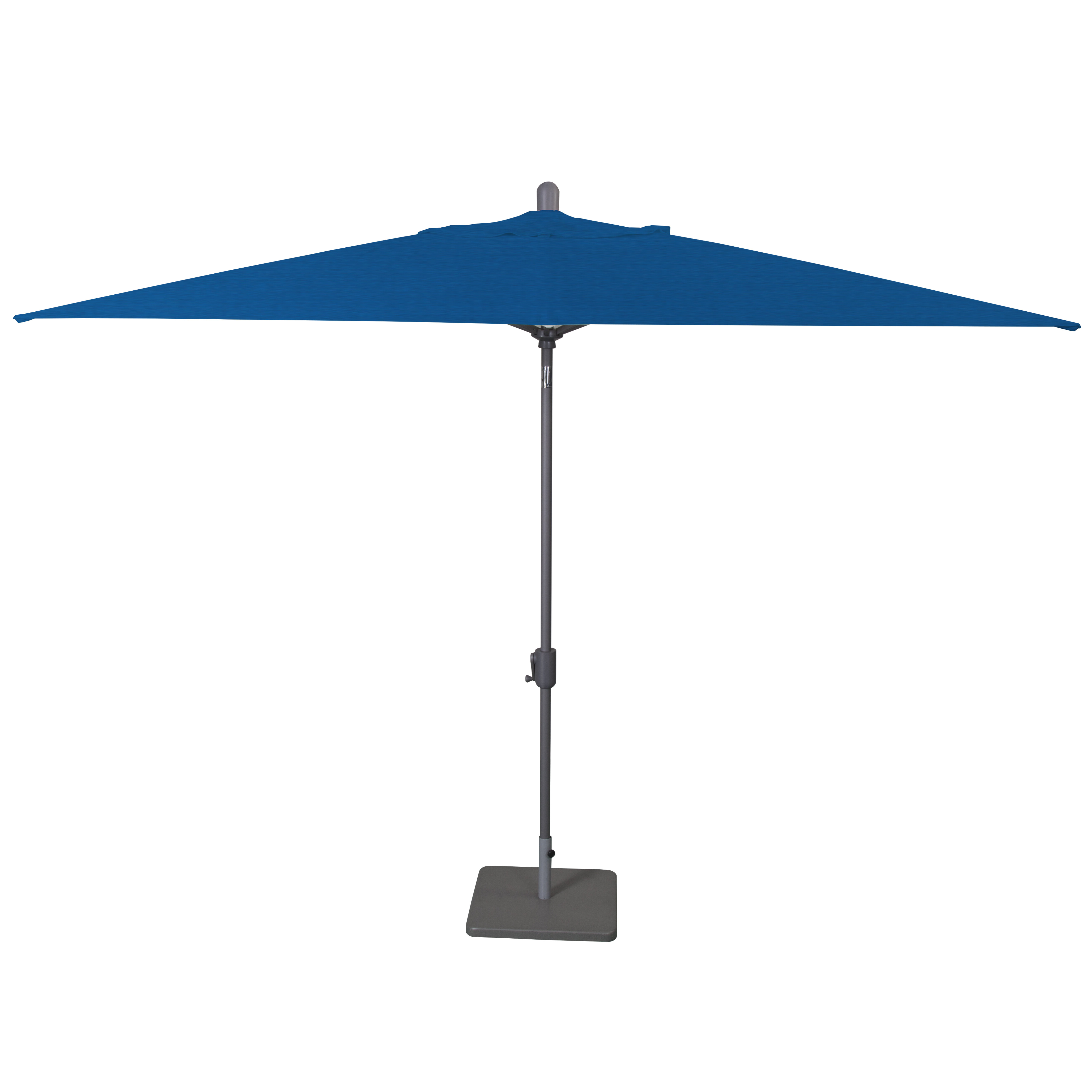Recent Wieczorek Auto Tilt 10' X 6.5' Rectangular Market Sunbrella Umbrella Regarding Madalyn Rectangular Market Sunbrella Umbrellas (Gallery 1 of 20)