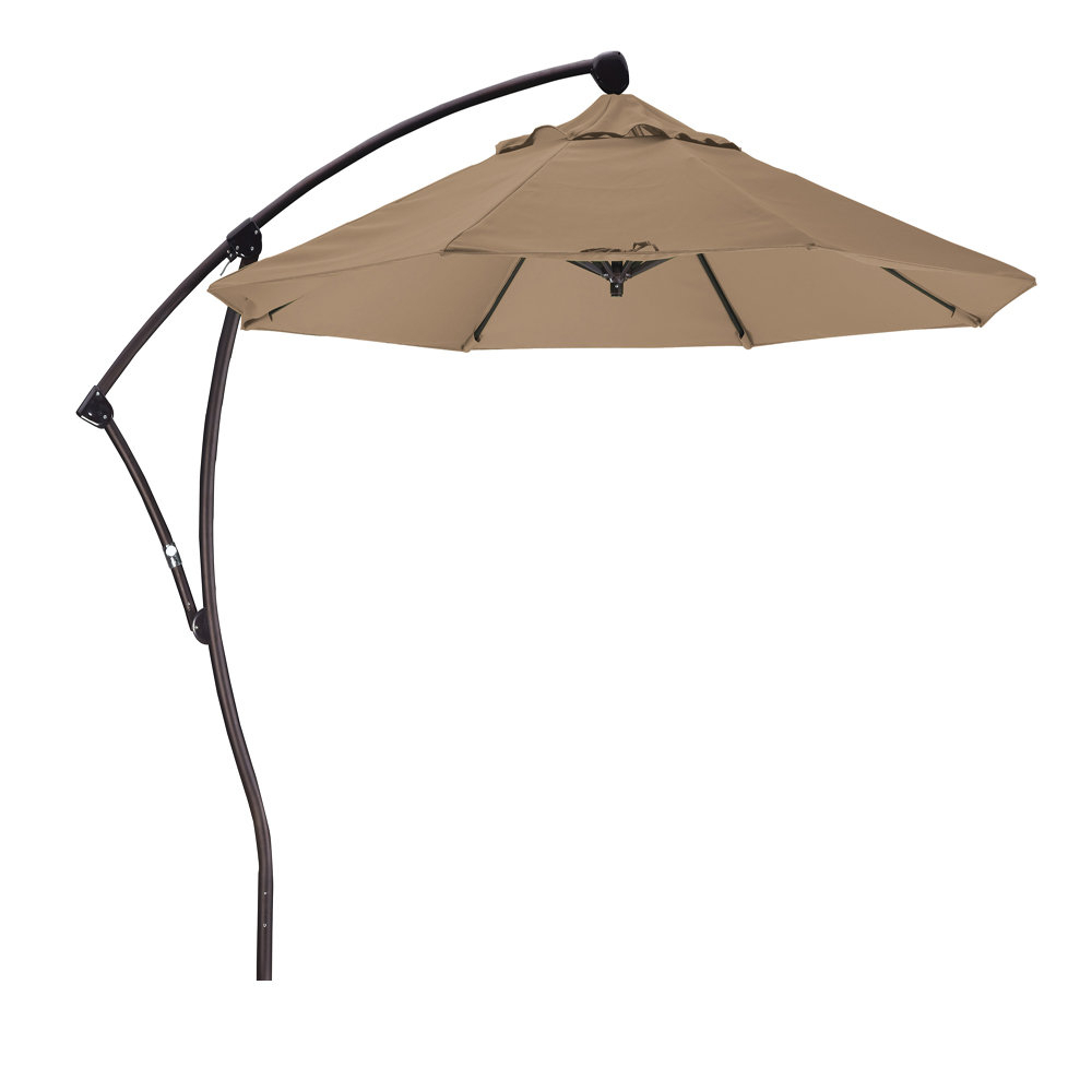 Ryant 9' Cantilever Umbrella In Most Current Ryant Cantilever Umbrellas (Gallery 3 of 20)