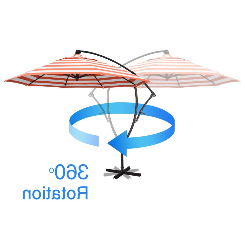 Ryant Cantilever Umbrellas For Most Current Ryant 9' Cantilever Umbrella In  (View 11 of 20)