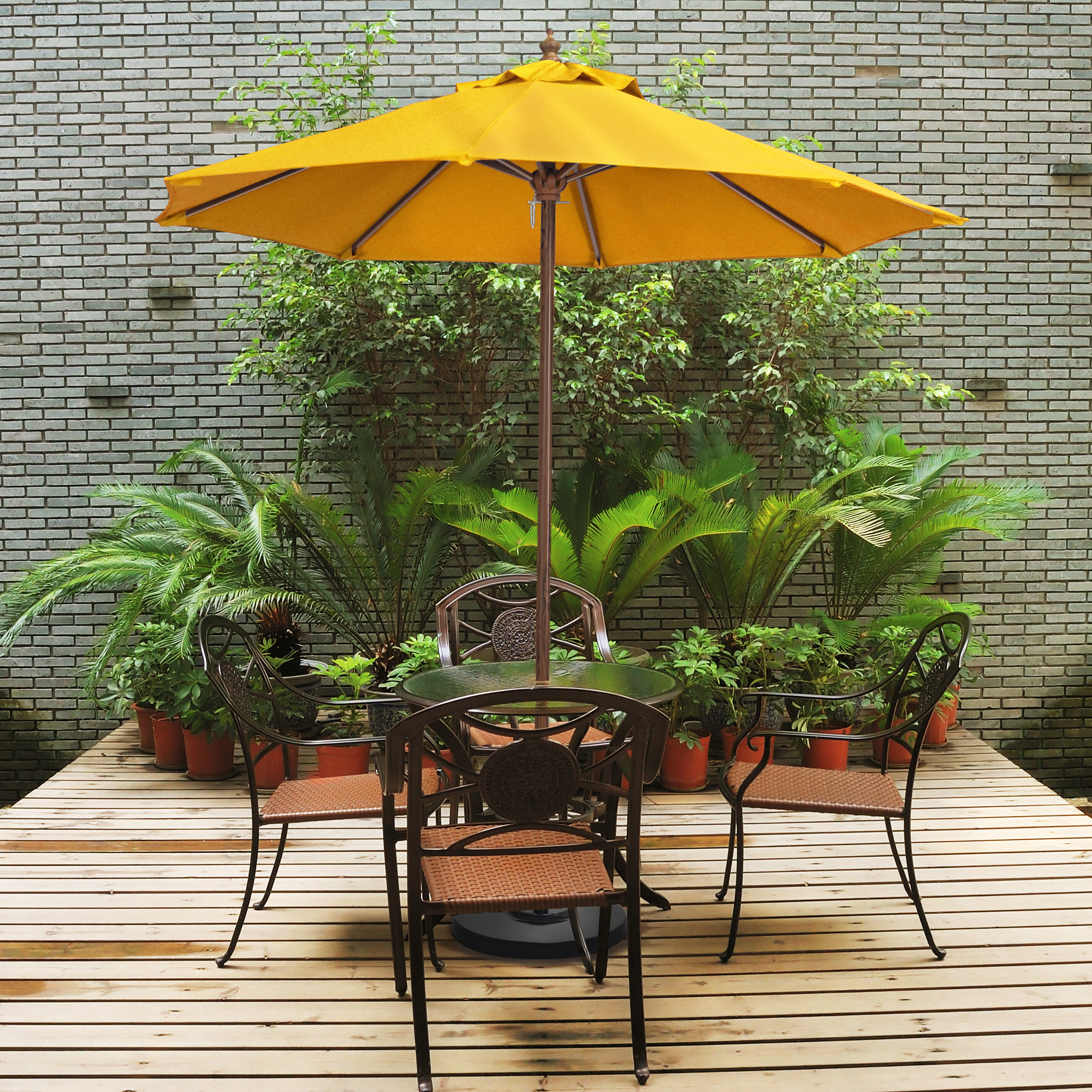Ryant Cantilever Umbrellas Within 2020 Ryant 9' Market Umbrella (View 16 of 20)