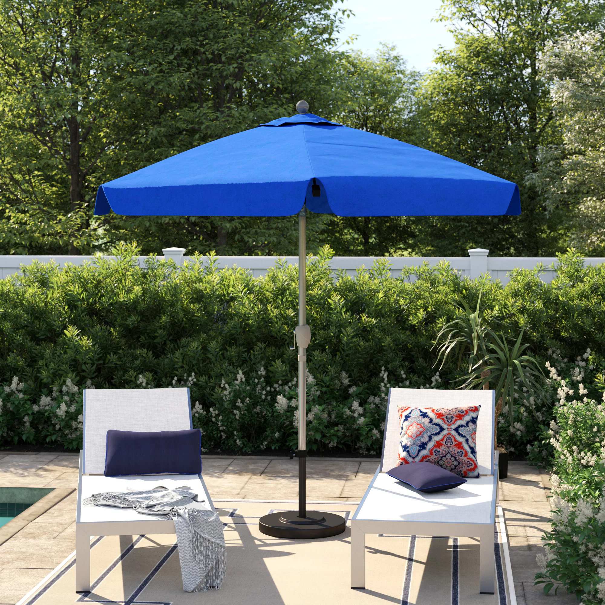 Ryant Market Umbrellas Throughout Most Current Capresa 7.5' Market Umbrella (Gallery 9 of 20)