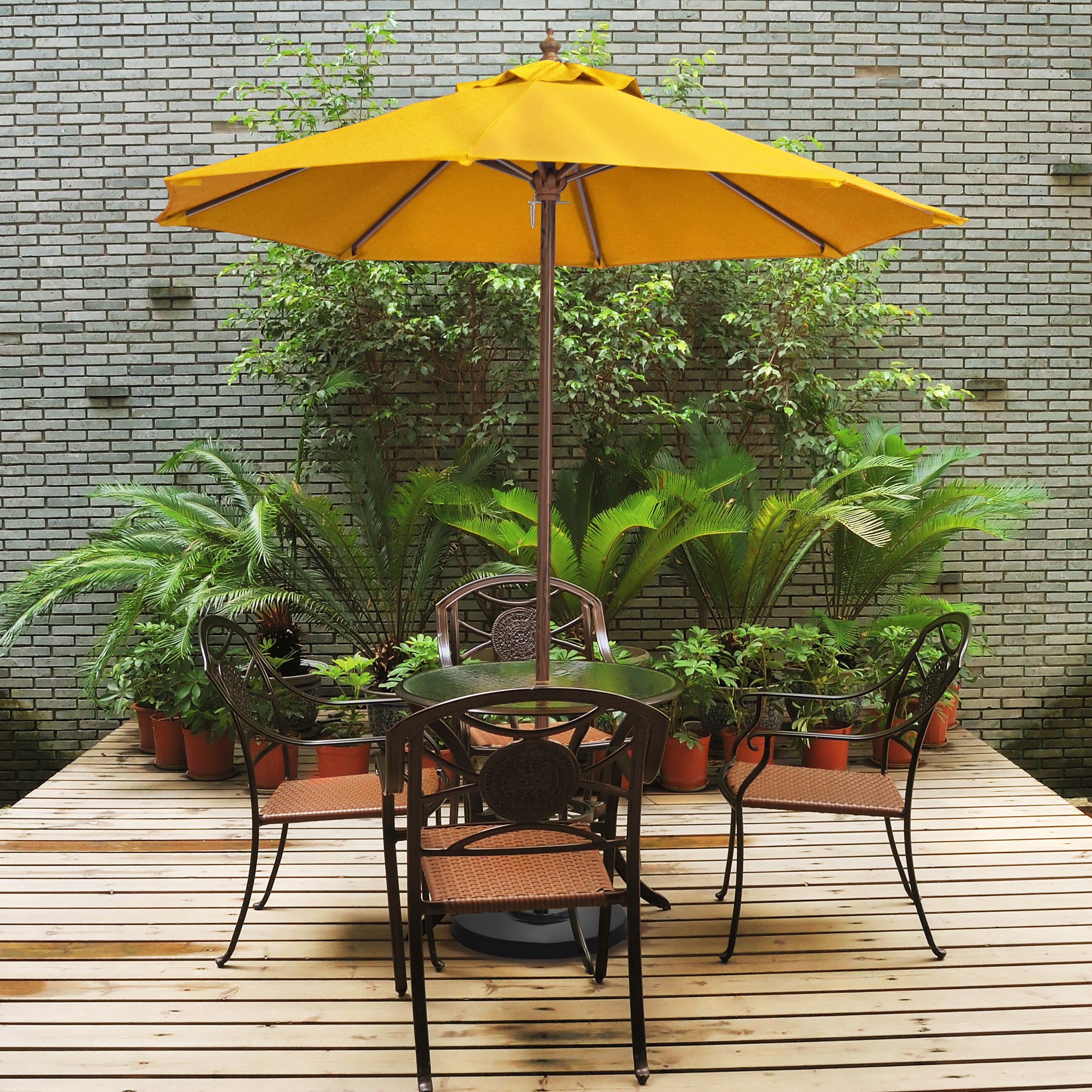 Ryant Market Umbrellas With Regard To Trendy Ryant 9' Market Umbrella (Gallery 4 of 20)