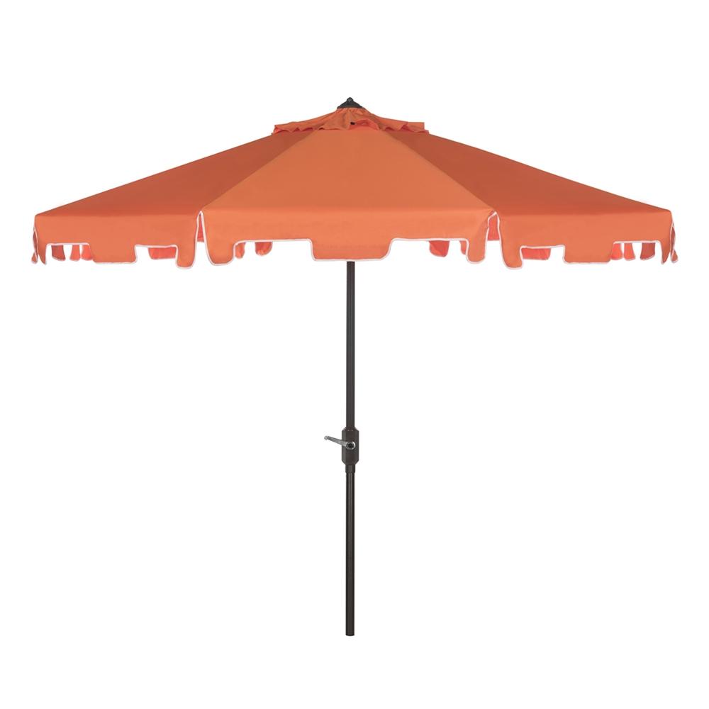 Safavieh Zimmerman 9 Ft Drape Umbrella With Crank And Tilt Regarding Best And Newest Drape Umbrellas (View 20 of 20)