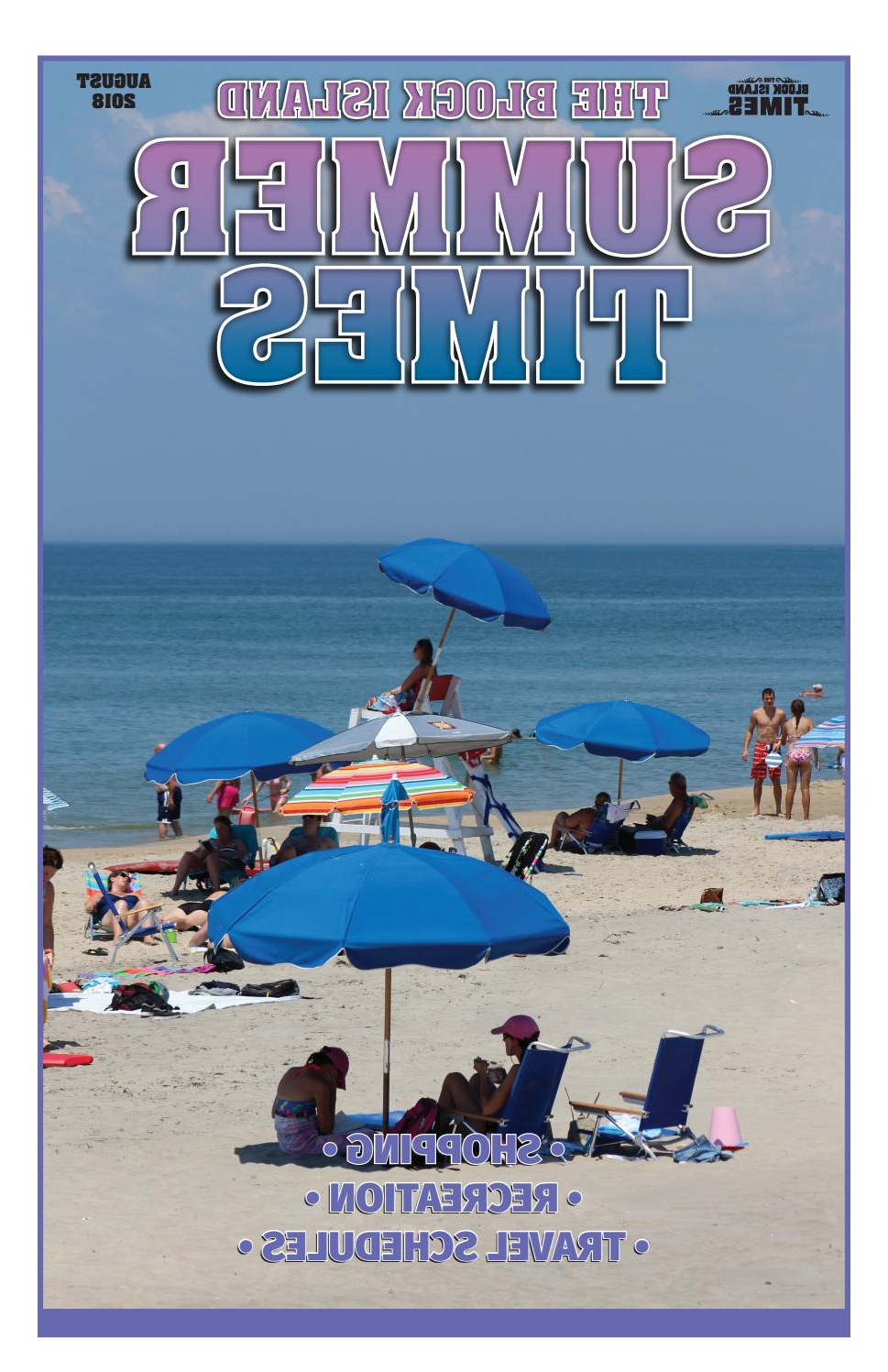 Schroeder Heavy Duty Beach Umbrellas In Well Known August 2018 Block Island Summer Timesblockisland – Issuu (View 15 of 20)