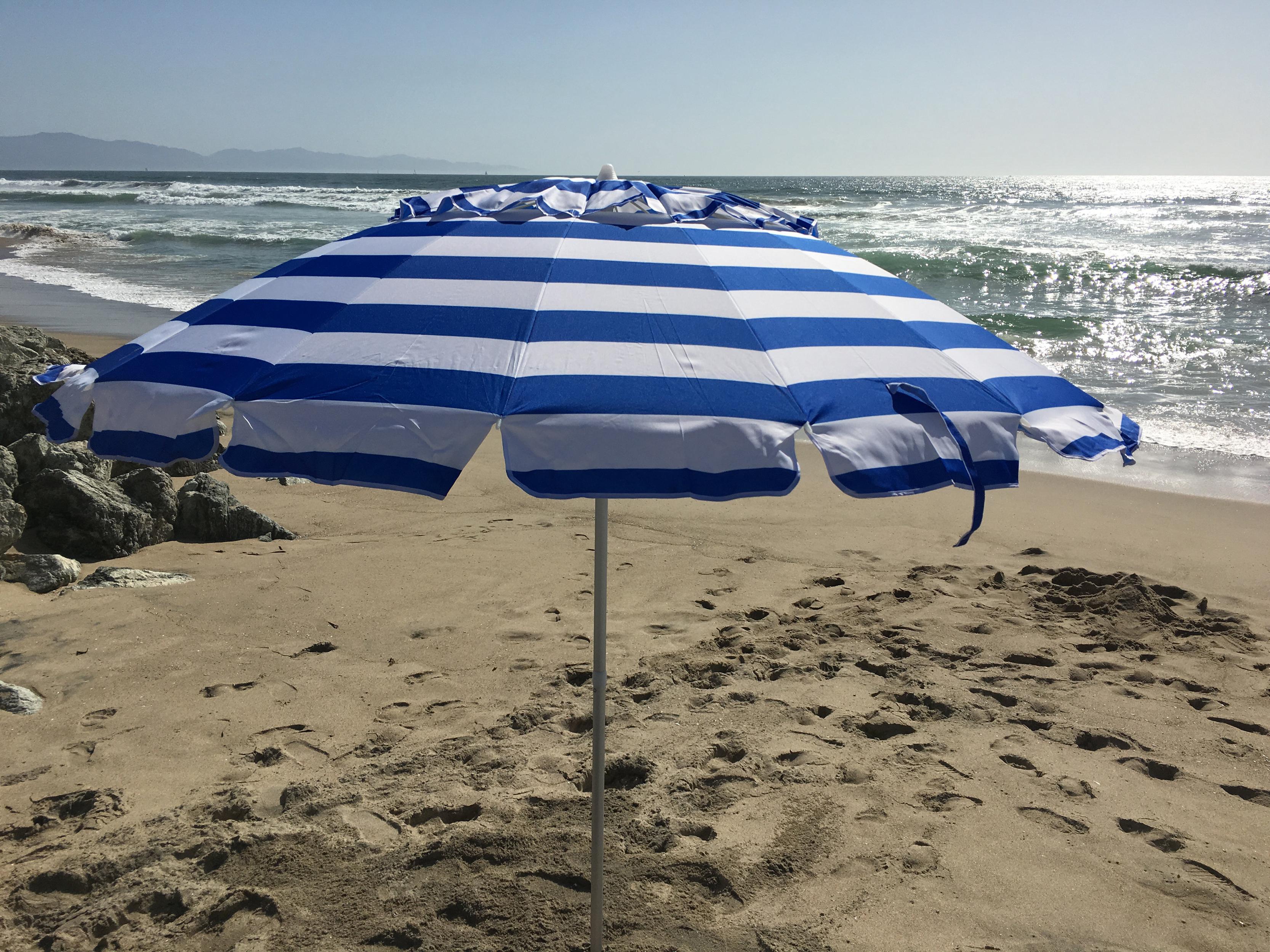 Schroeder Heavy Duty Beach Umbrellas Within Most Popular 8' Beach Umbrella (View 19 of 20)