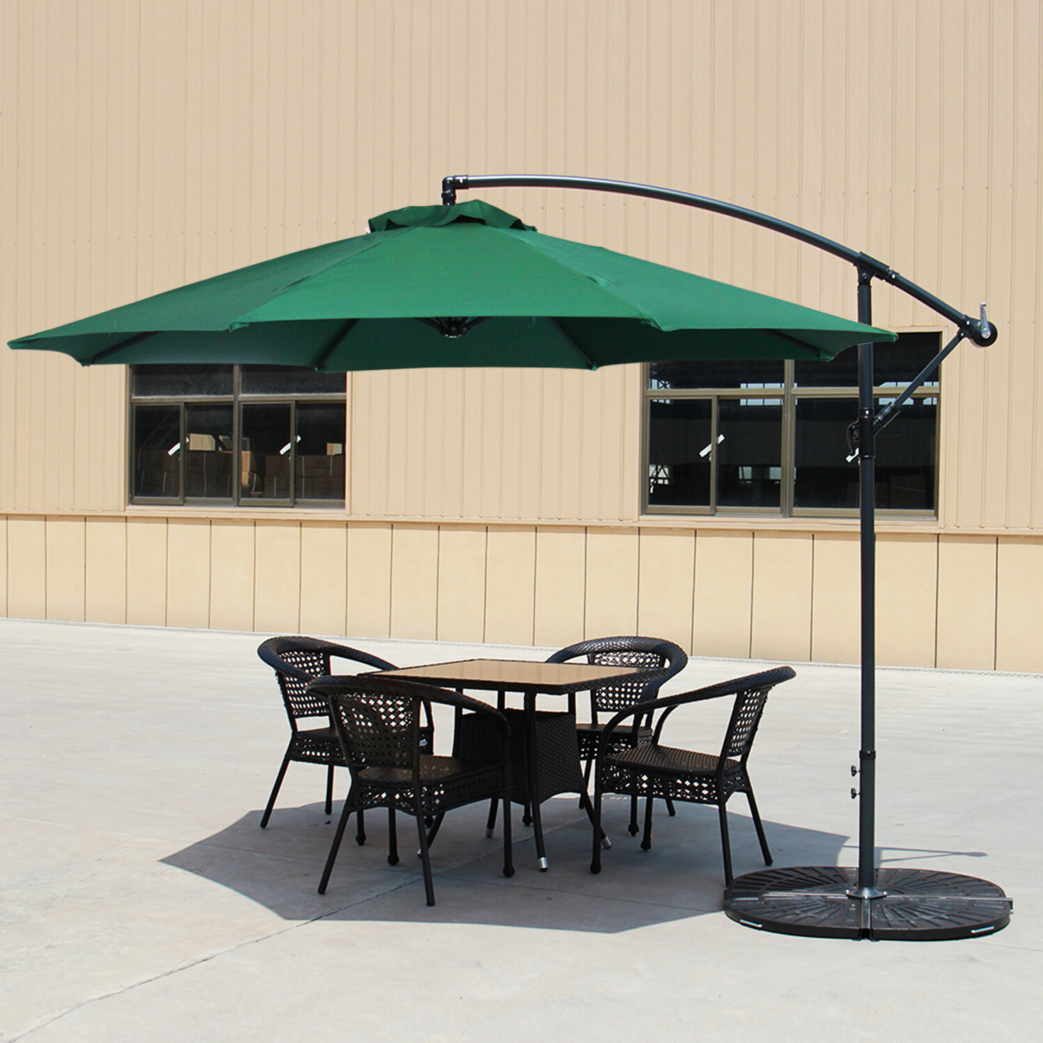 Scott 10' Cantilever Umbrella Intended For Best And Newest Imogen Hanging Offset Cantilever Umbrellas (View 6 of 20)
