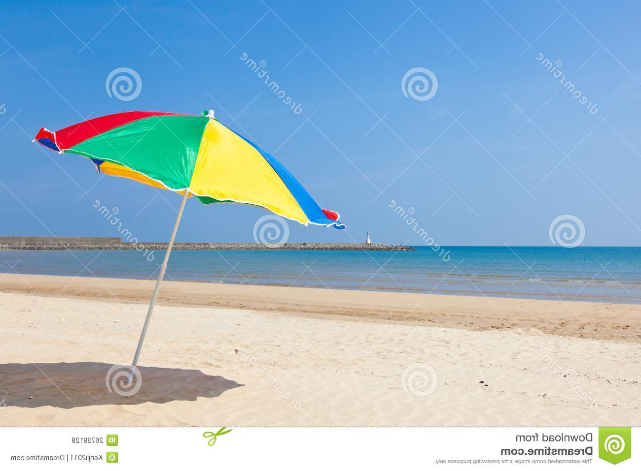 Seaside Beach Umbrella Stock Photo (View 11 of 20)