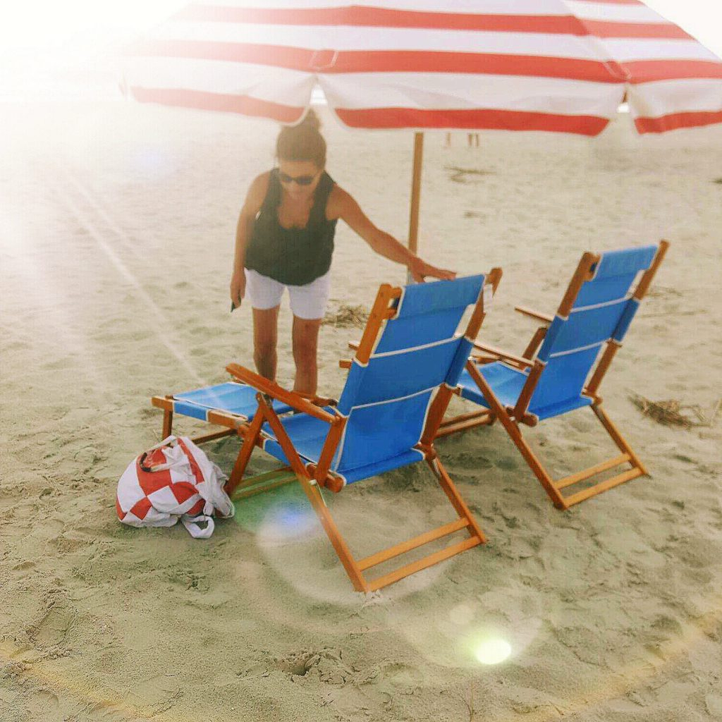 Seaside Chairs And Umbrellas (View 17 of 20)