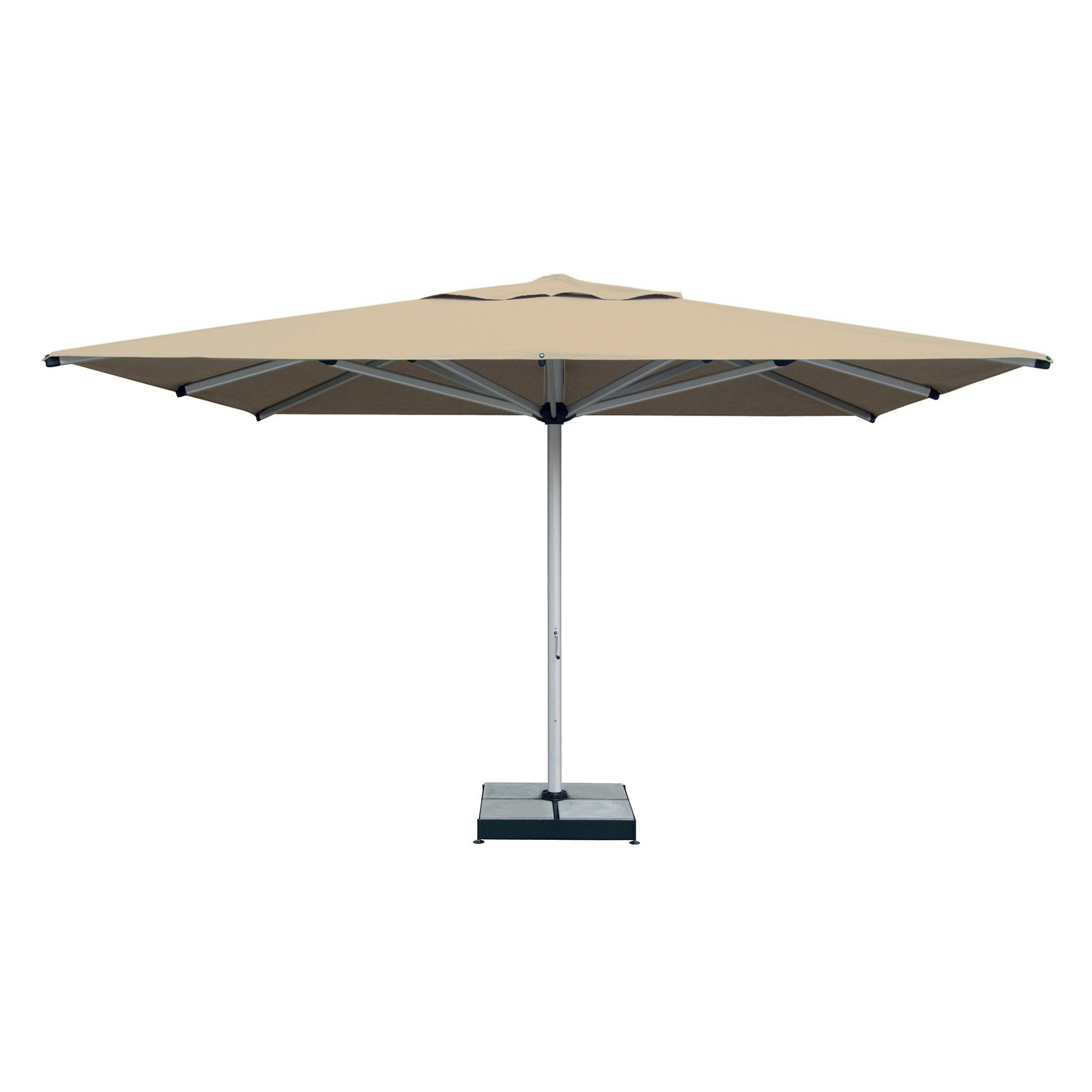 """Shademaker Astral Tc 16'4"""" Square Commercial Umbrella In 2019 Within Fashionable Phat Tommy Cantilever Umbrellas (View 16 of 20)"""