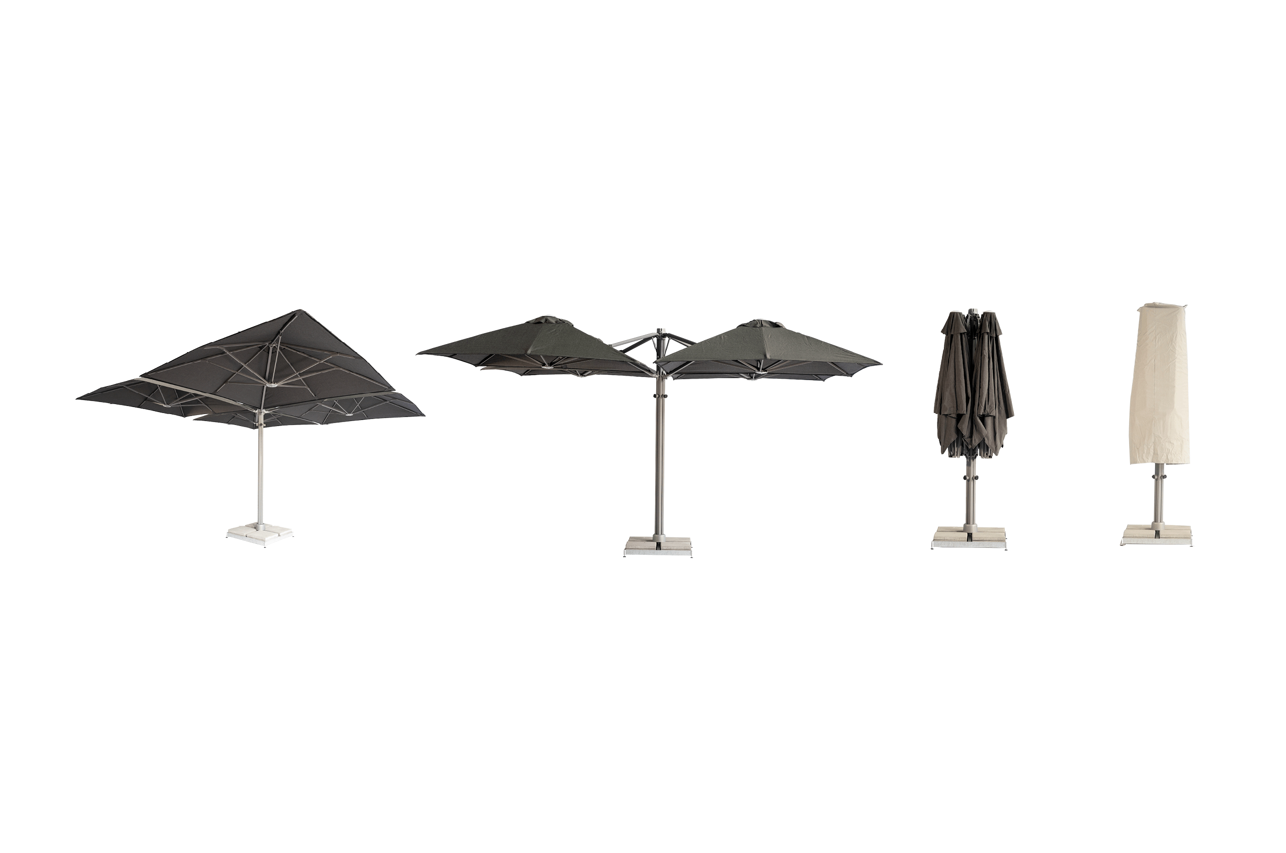 Shadowspec Intended For Famous Mald Square Cantilever Umbrellas (View 20 of 20)