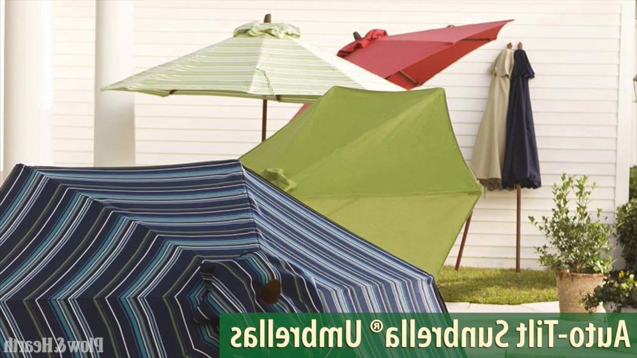 Sheehan Market Umbrellas Regarding Famous The 7 Best Patio Umbrellas For Your Yard, Garden, Or Deck In  (View 14 of 20)