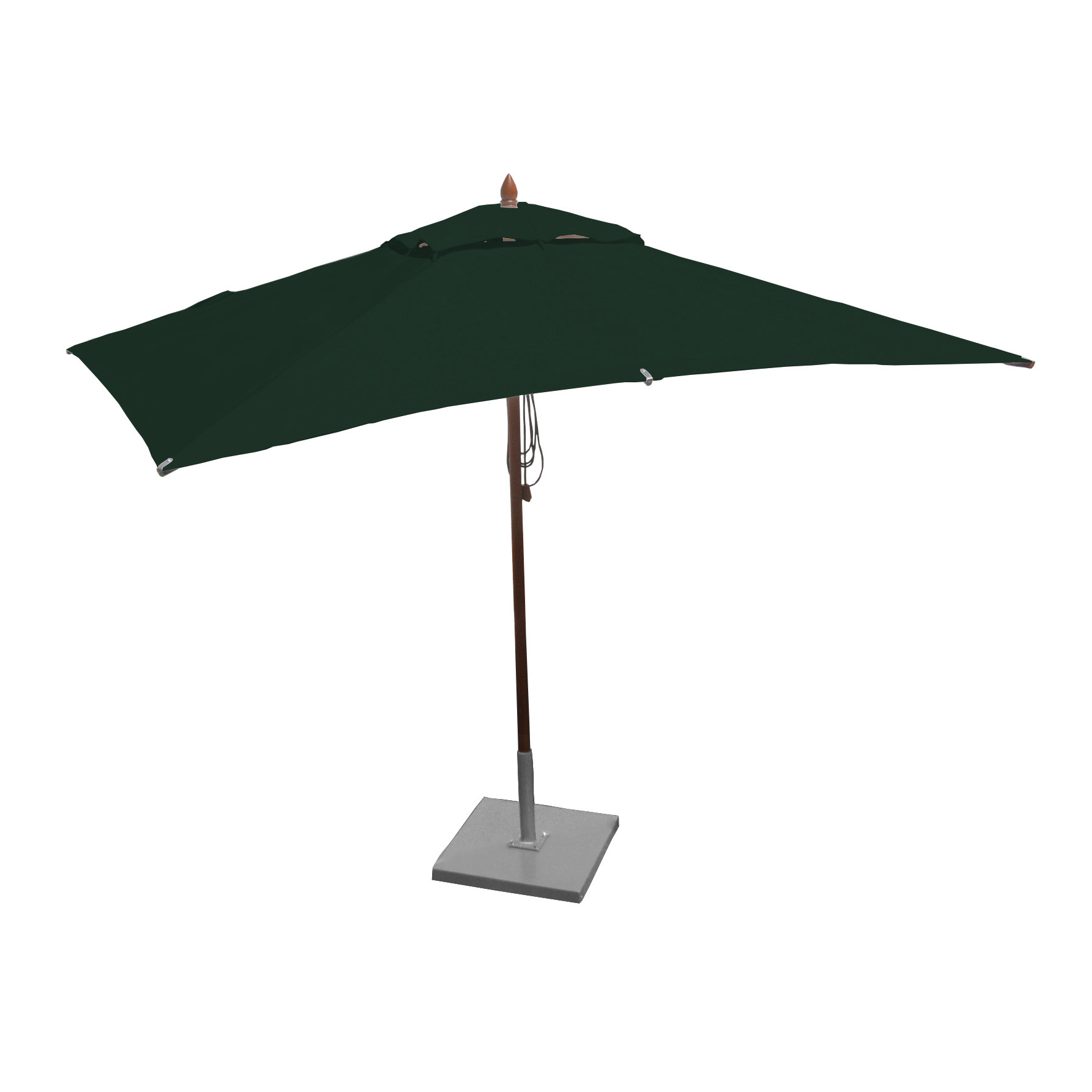 Sherlyn Rectangular Market Umbrellas Throughout 2019 Oakern 10' X (View 12 of 20)