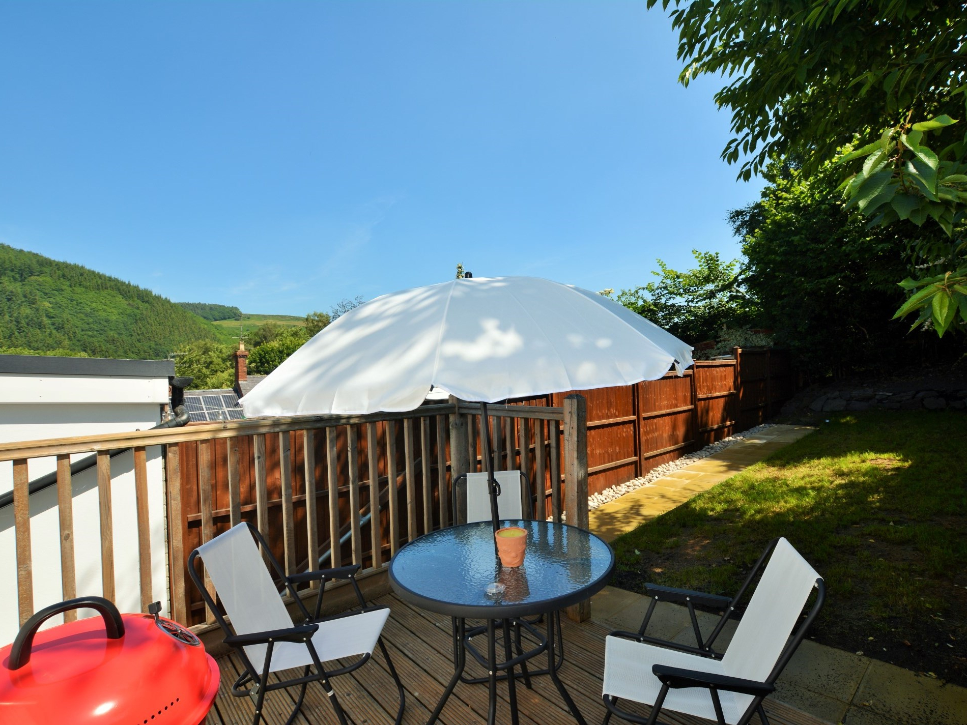 Shropshire Market Umbrellas With Regard To Famous Offa's Dyke Cottage (View 13 of 20)