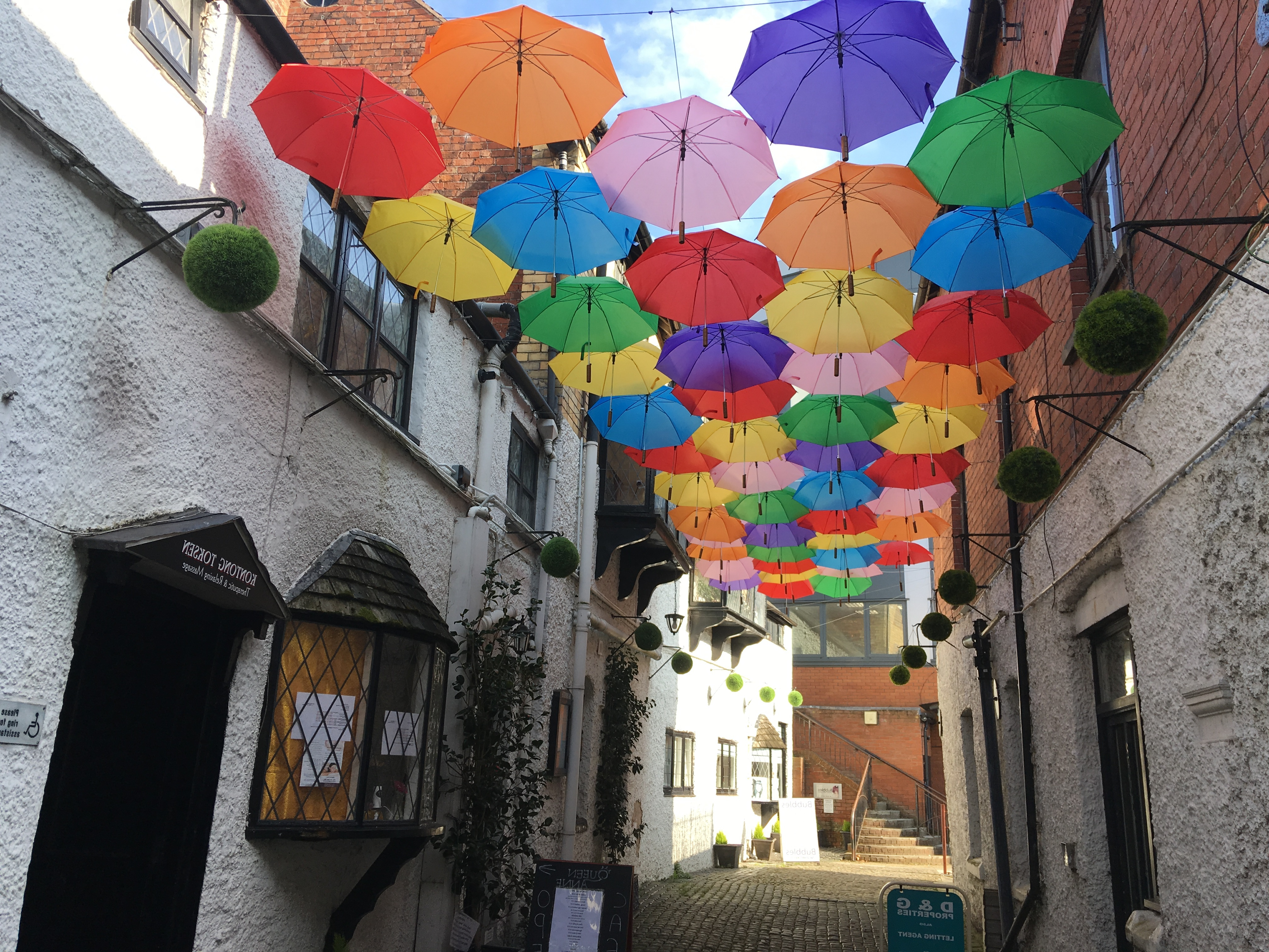 Shropshire Market Umbrellas With Regard To Latest Brollies Brighten Up The Town (View 14 of 20)