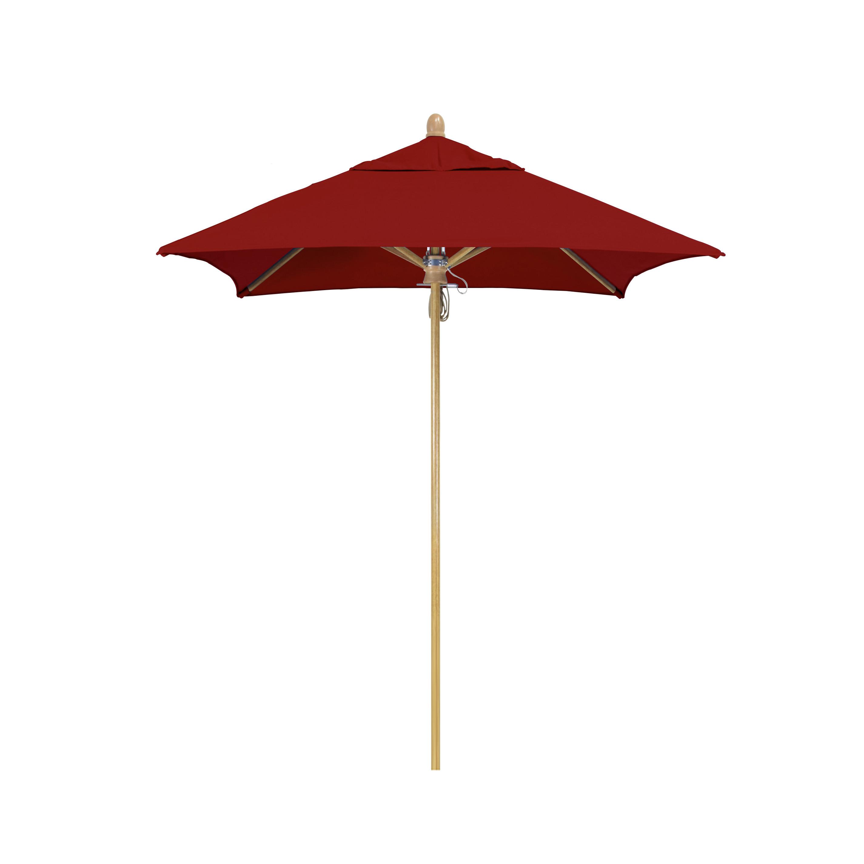 Sierra Series 6' Square Market Sunbrella Umbrella Within Most Recent Hyperion Market Umbrellas (View 18 of 20)