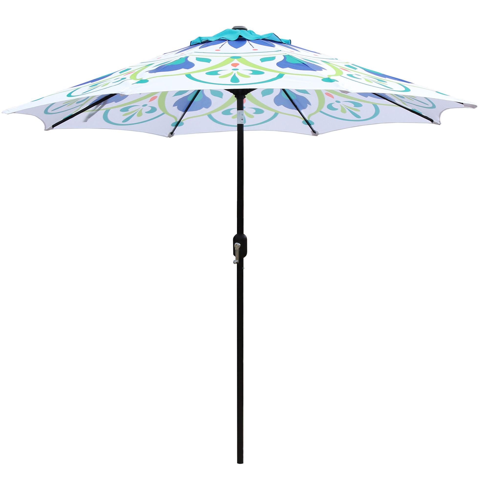 Sittard 9' Market Umbrella For Popular Filey Market Umbrellas (View 3 of 20)