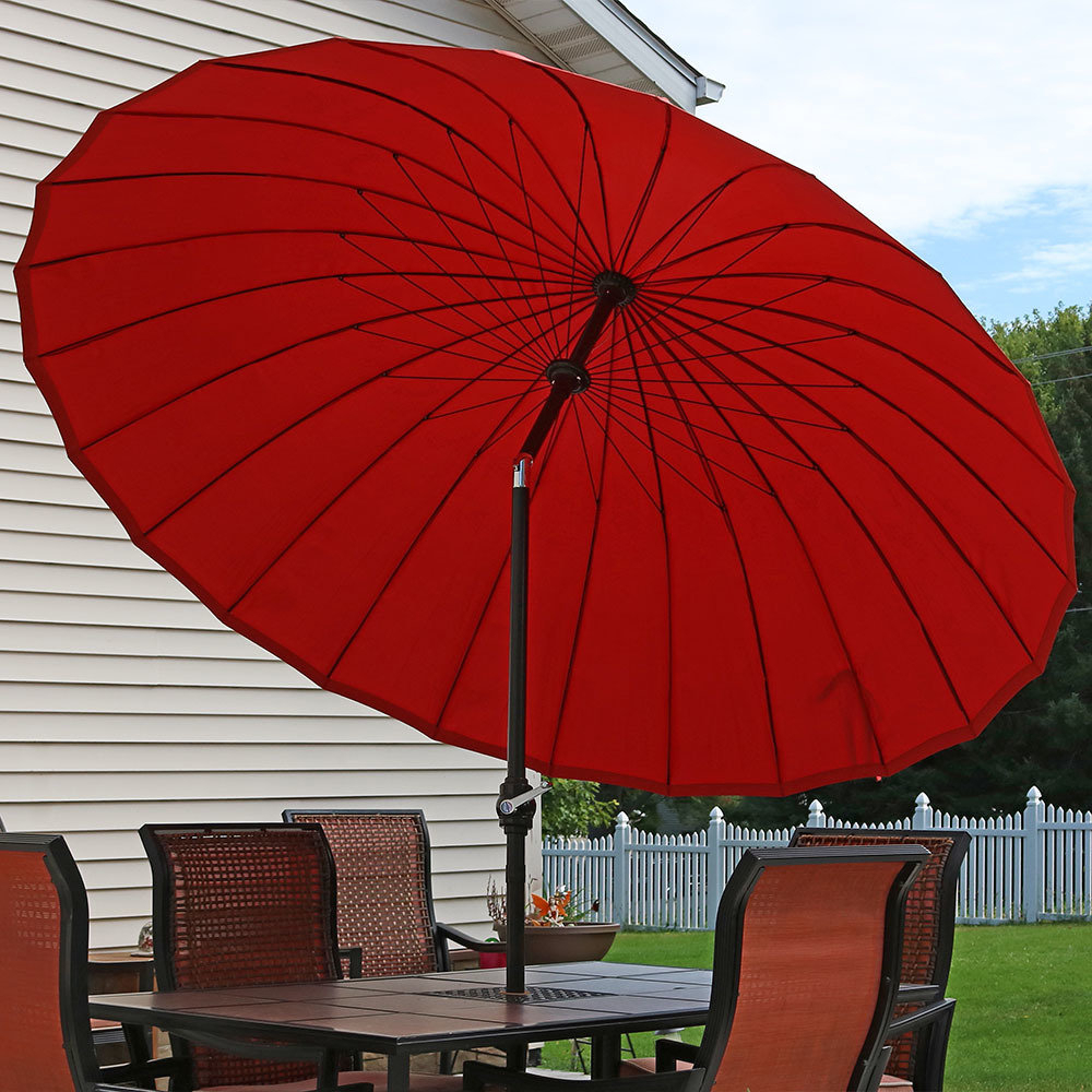 Sittard Market Umbrellas Pertaining To Trendy Flanagan 8' Beach Umbrella (View 7 of 20)