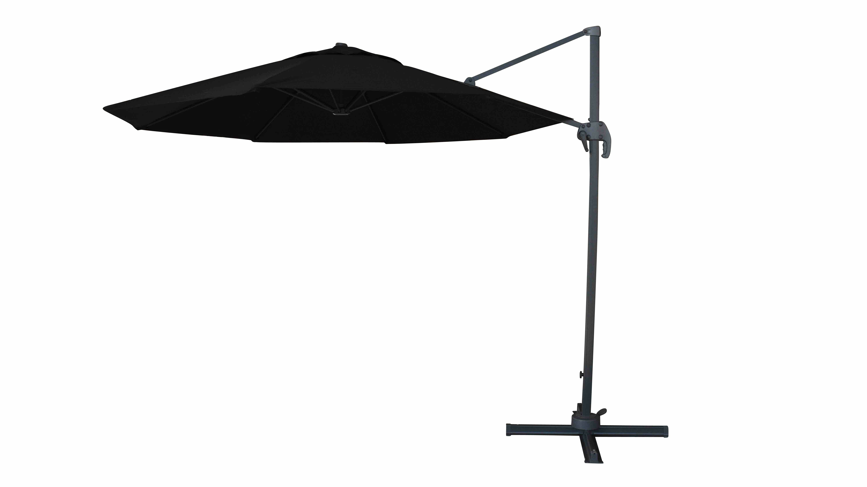 Solarte 11' Cantilever Umbrella With Regard To 2019 Bostic Cantilever Umbrellas (View 18 of 20)