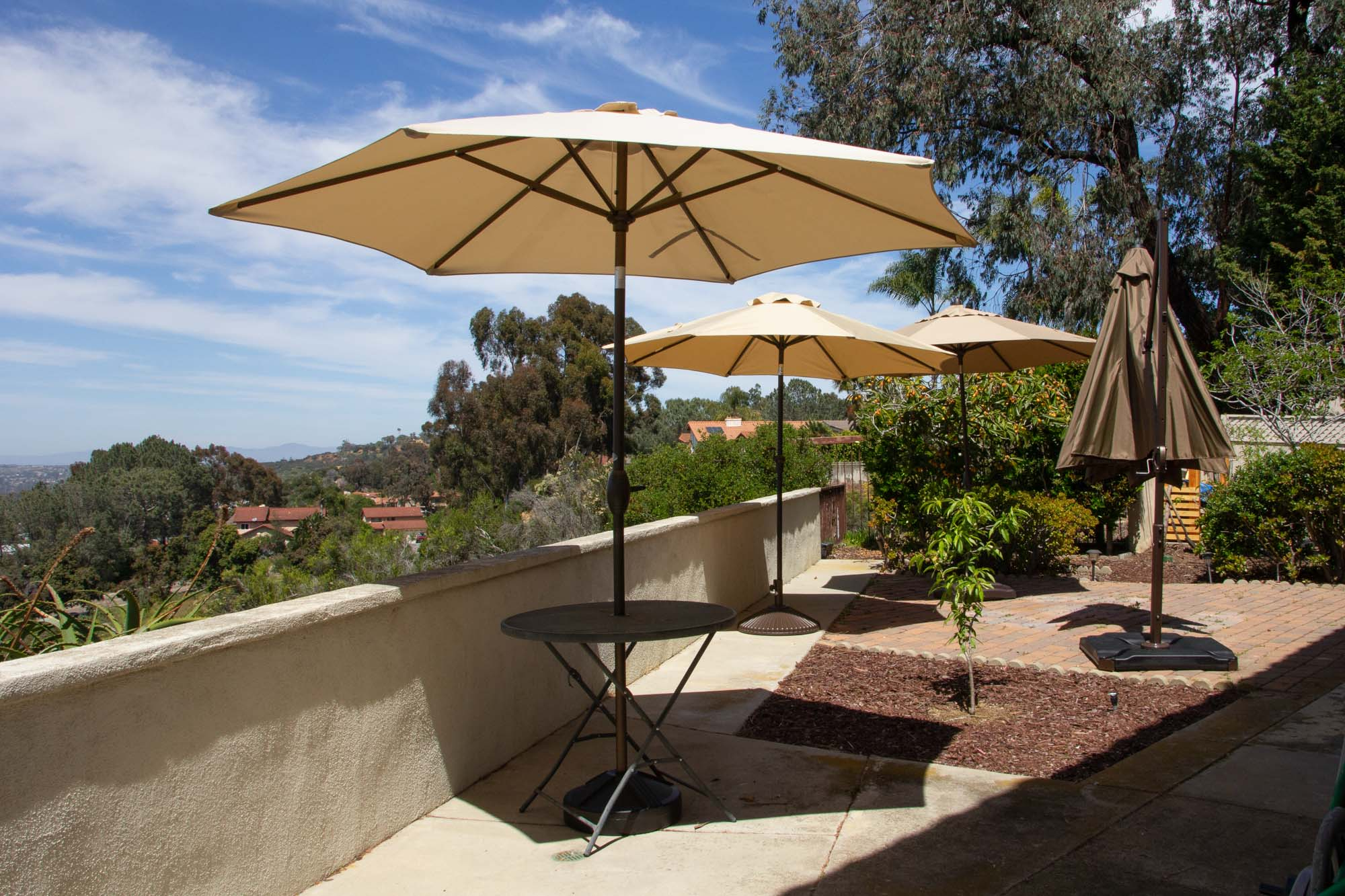Solid Rectangular Market Umbrellas Inside Famous The Best Patio Umbrella And Stand Of 2019 – Your Best Digs (View 13 of 20)