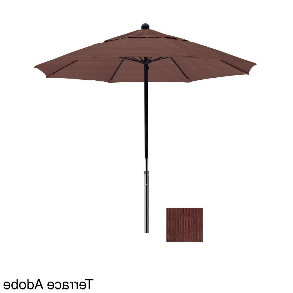 Stacy Market Umbrellas Regarding 2020 California Umbrella 7.5' Rd (View 13 of 20)