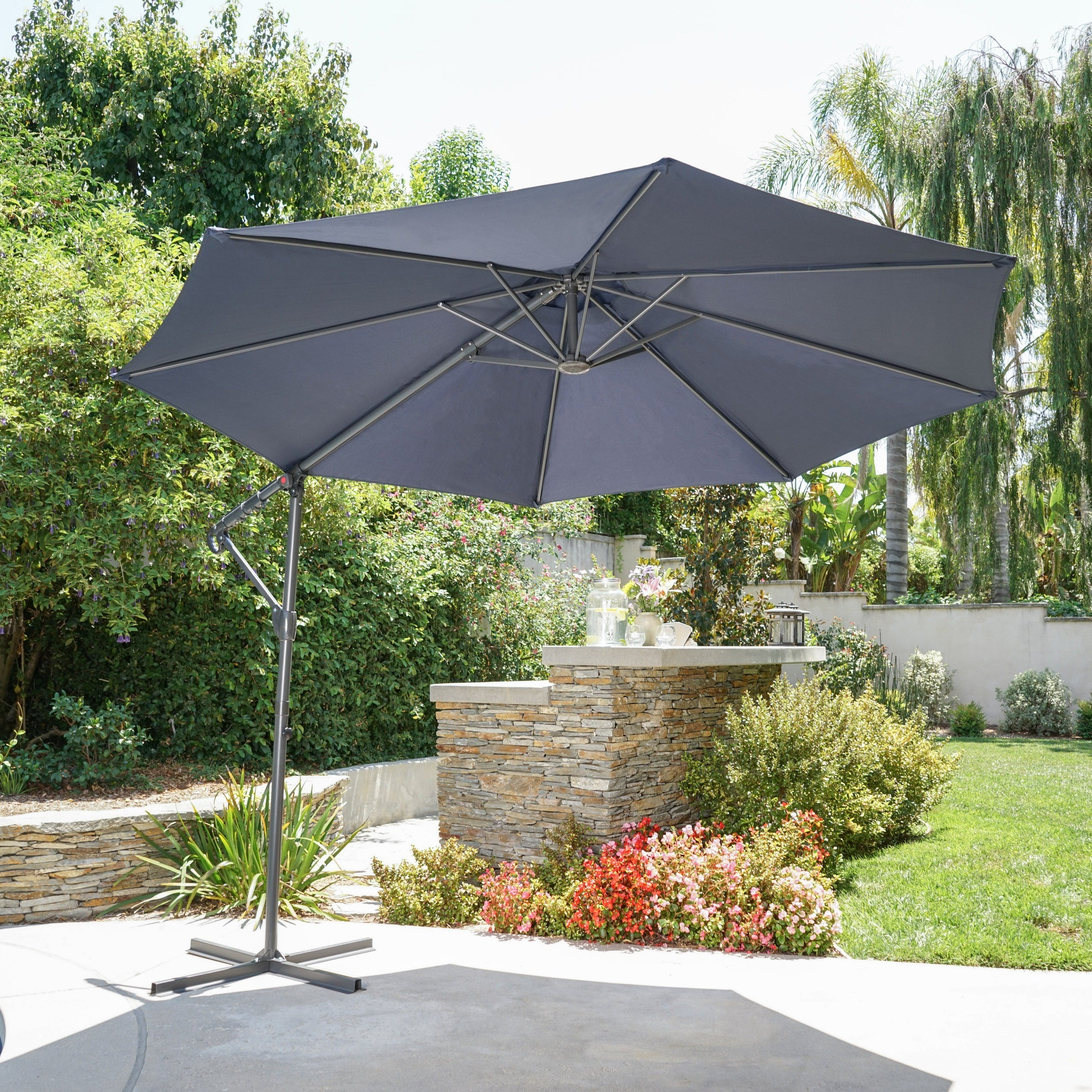 Stacy Market Umbrellas Within Most Up To Date Stanley Outdoor  (View 16 of 20)