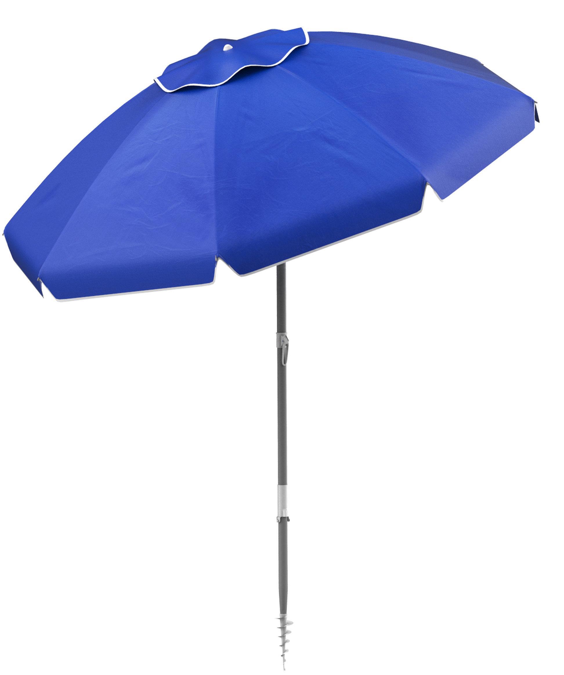 Stanhope Tilting Beach Umbrella Regarding Well Liked Kerner Steel Beach Umbrellas (View 17 of 20)