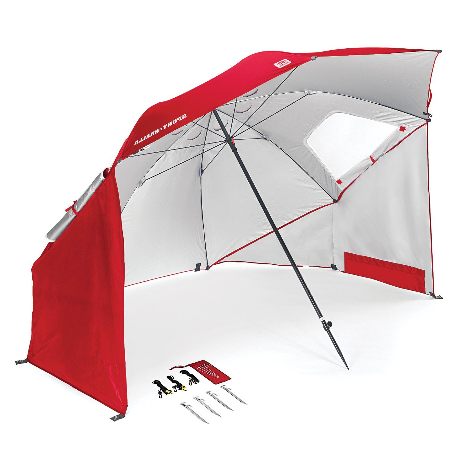 Sun Shelter Beach Umbrellas Regarding 2019 Best Beach Umbrella – Reviews & Buying Guide (august 2019) (View 6 of 20)