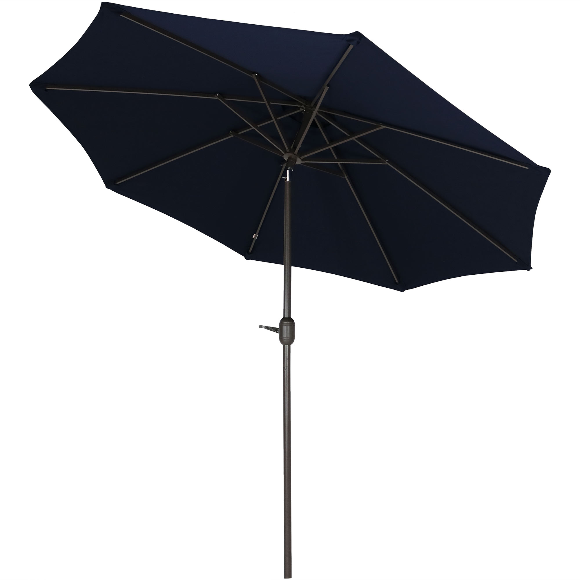 Sunnydaze Sunbrella Patio Umbrella With Auto Tilt And Crank, 9 Foot Outdoor Market Umbrella, Rust Resistant Aluminum, Sunbrella Beige Throughout Well Liked Julian Market Sunbrella Umbrellas (View 17 of 20)