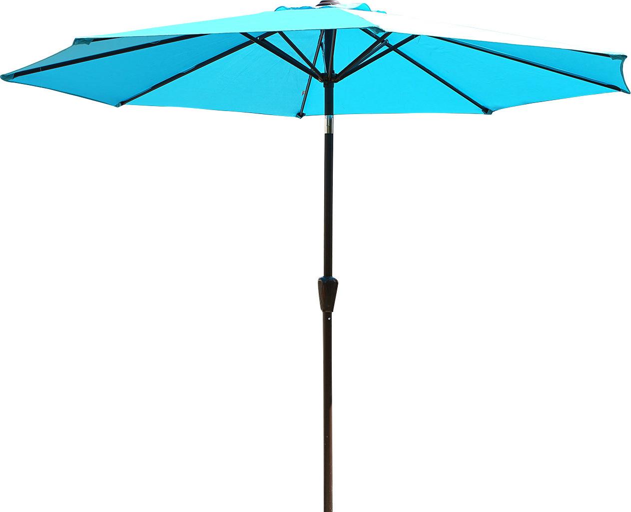 Taube 9' Market Umbrella Intended For Fashionable Zeman Market Umbrellas (View 11 of 20)