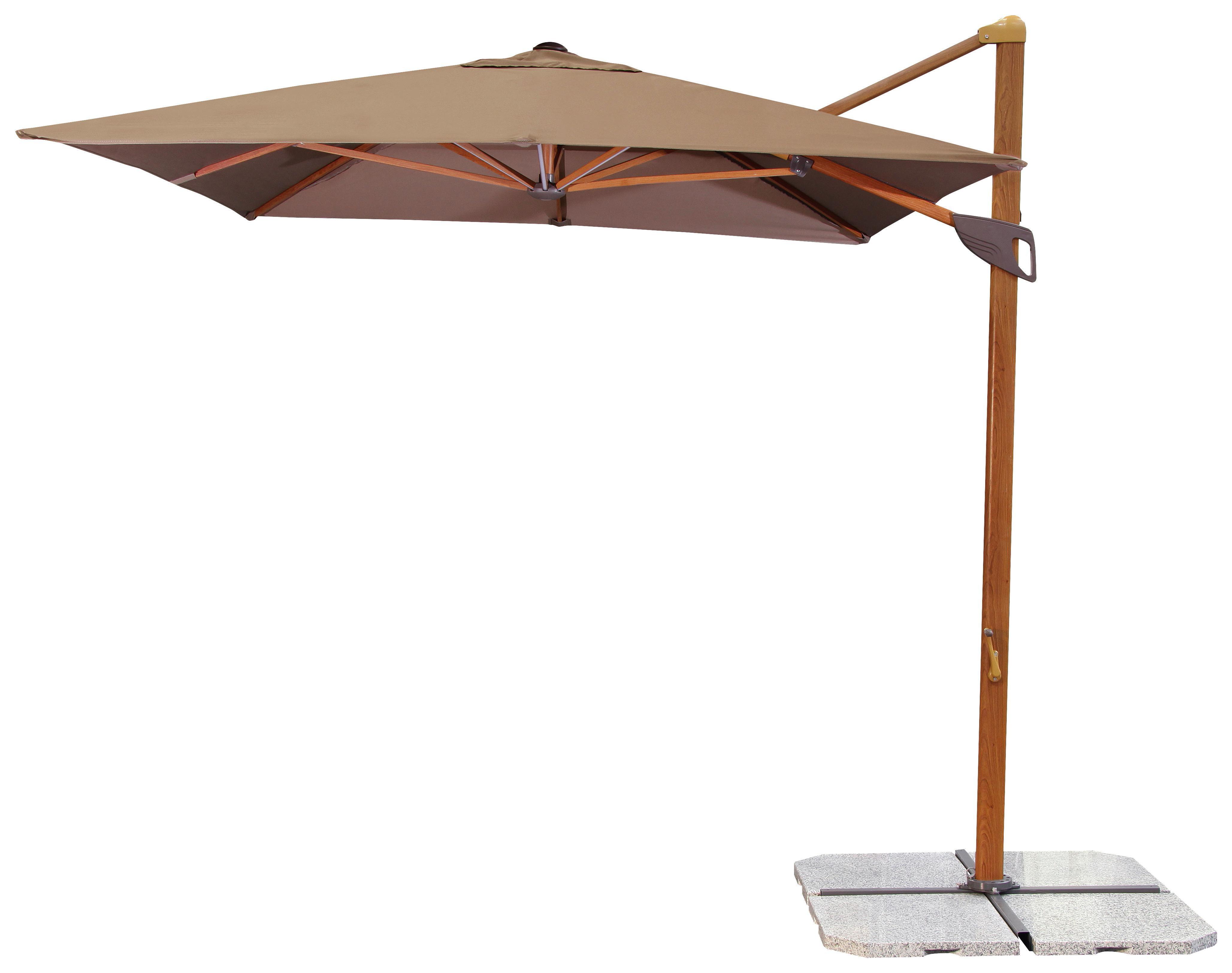 Taube Market Umbrellas Within Popular Sonnenschirme & Ampelschirme, Sonnenschirme Rechteckig Xxxlutz (View 19 of 20)