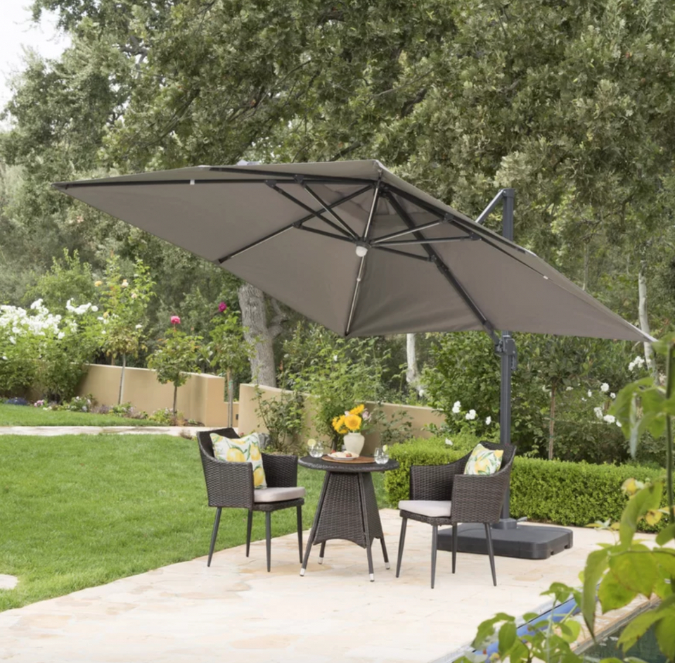The Best Deals To Shop At Wayfair's Outdoor Furniture Sale – News With Latest Jendayi Square Cantilever Umbrellas (View 20 of 20)