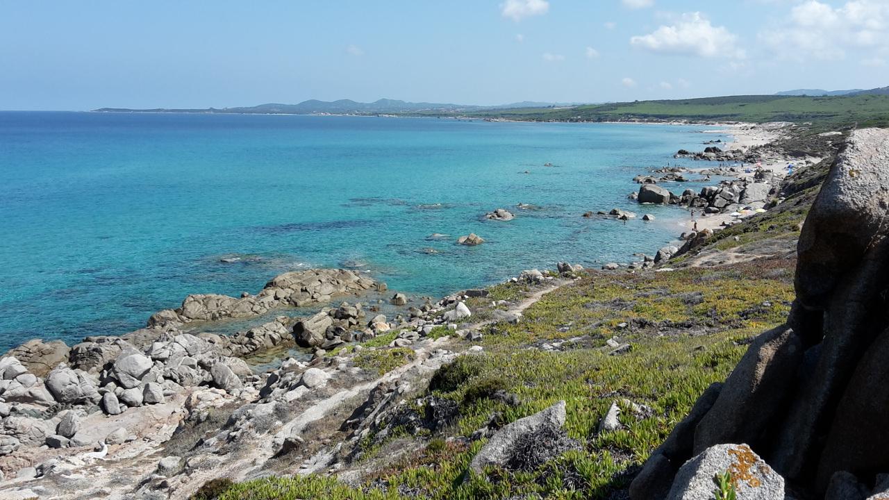 The Long Beach Of Lu Littaroni – Sardinia 4 Emotions With Well Known Capra Beach Umbrellas (View 18 of 20)