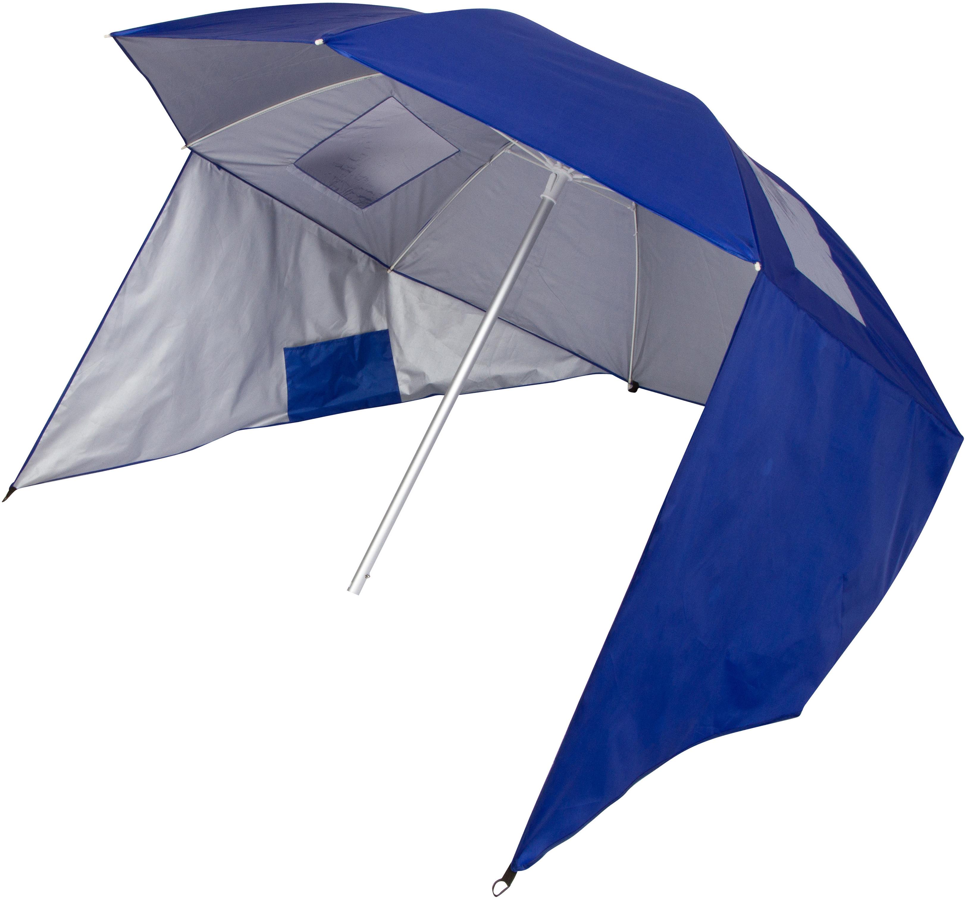 Tiara Sun Shelter 50+ Uv Protection 7' Beach Umbrella Inside Recent Alyson Joeshade Beach Umbrellas (View 19 of 20)