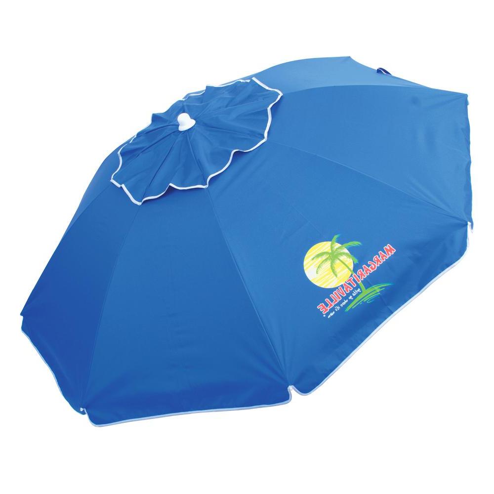 Tilt Beach Umbrellas Regarding 2019 Margaritaville 6.5 Ft (View 13 of 20)