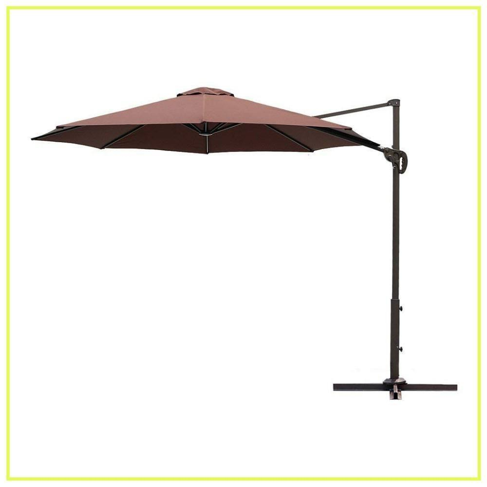Trendy 10 Best Cantilever Umbrellas In 2019: A Complete Guide And Reviews For Mald Square Cantilever Umbrellas (View 12 of 20)