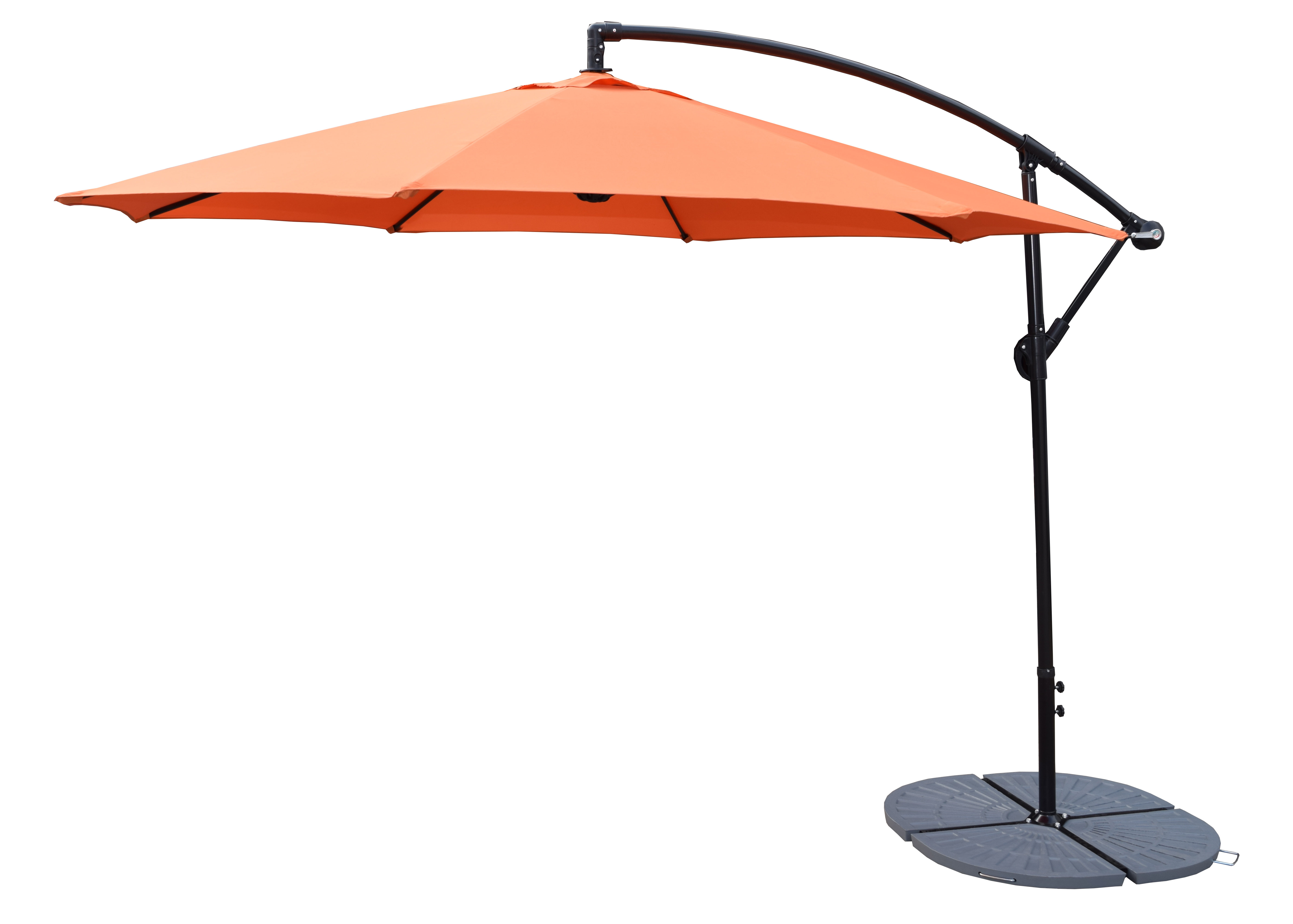 Trendy 10' Cantilever Umbrella For Irven Cantilever Umbrellas (View 15 of 20)